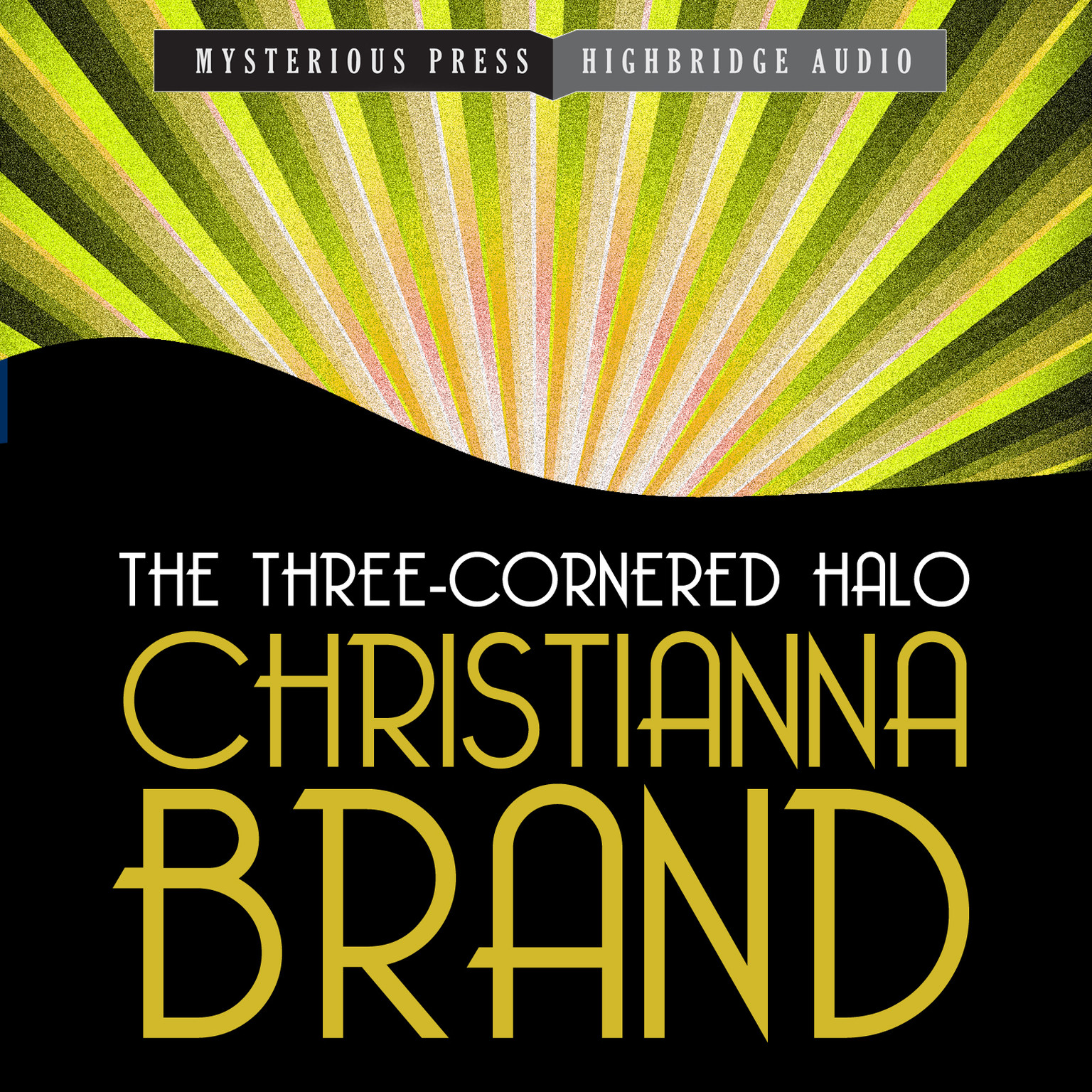 Printable The Three-Cornered Halo Audiobook Cover Art