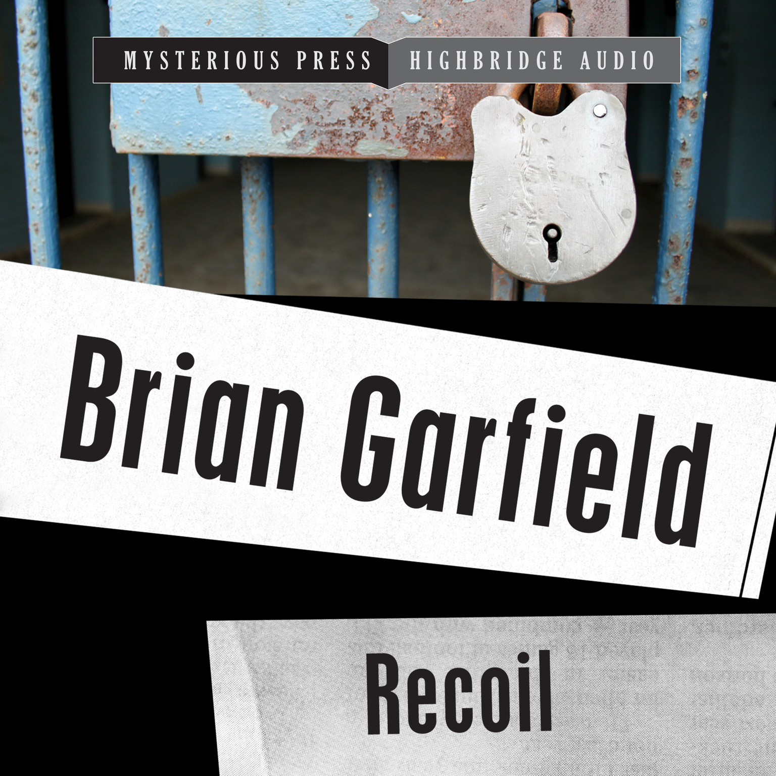 Printable Recoil Audiobook Cover Art