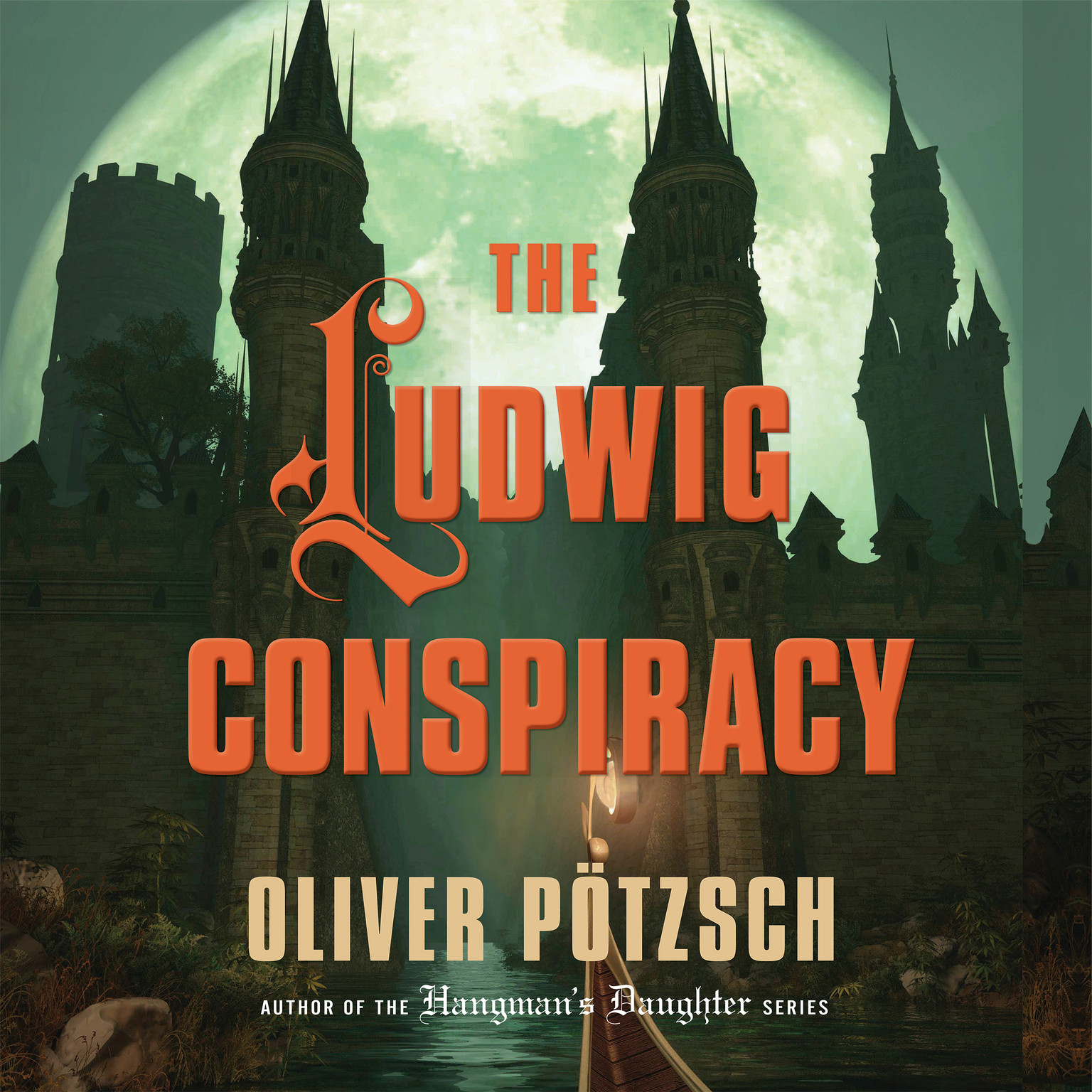 Printable The Ludwig Conspiracy Audiobook Cover Art