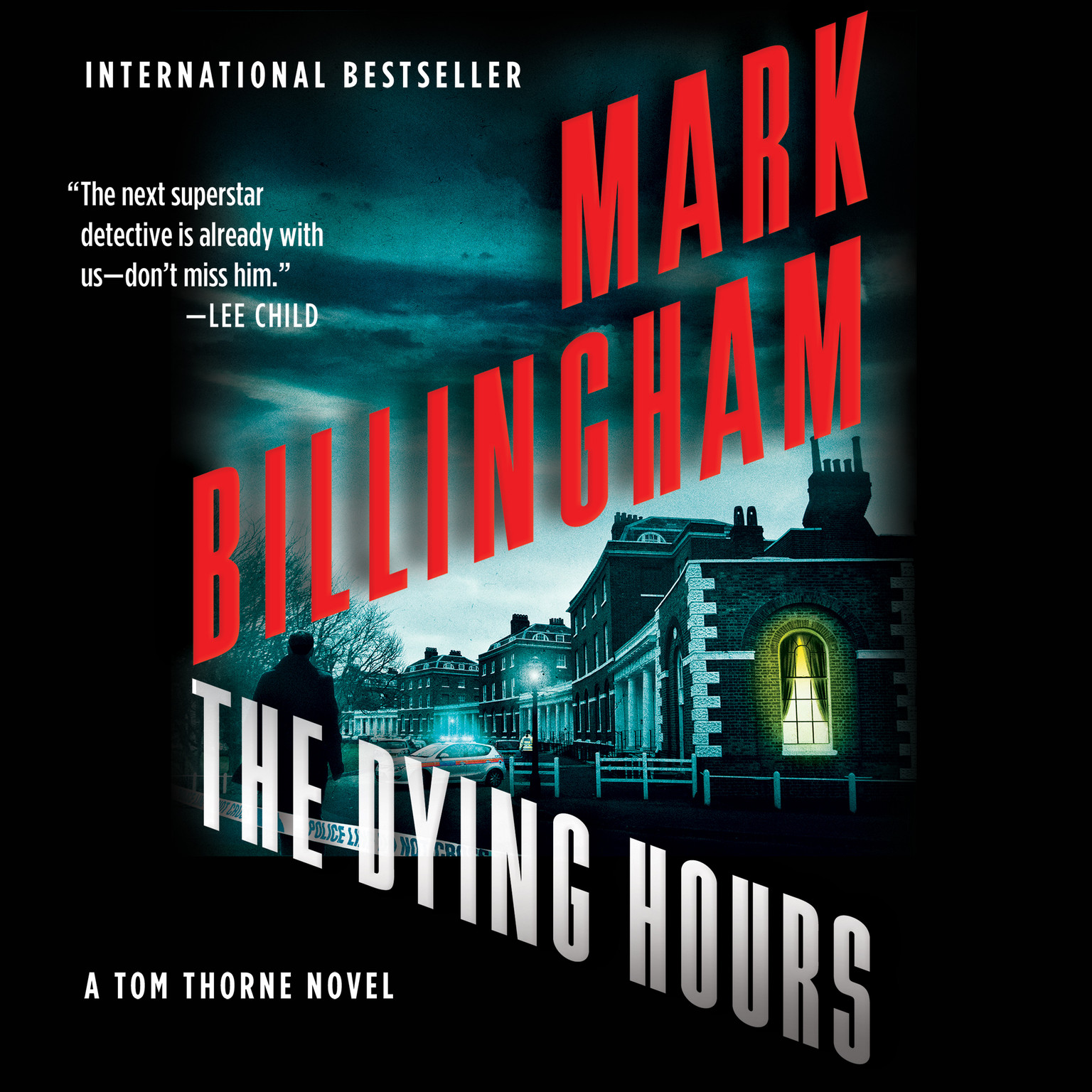 Printable The Dying Hours Audiobook Cover Art