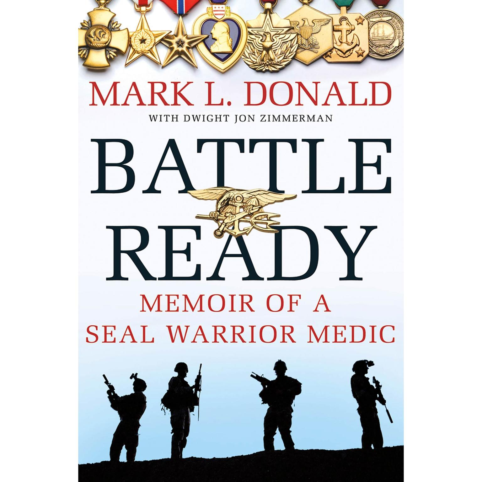 Printable Battle Ready: Memoir of a SEAL Warrior Medic Audiobook Cover Art