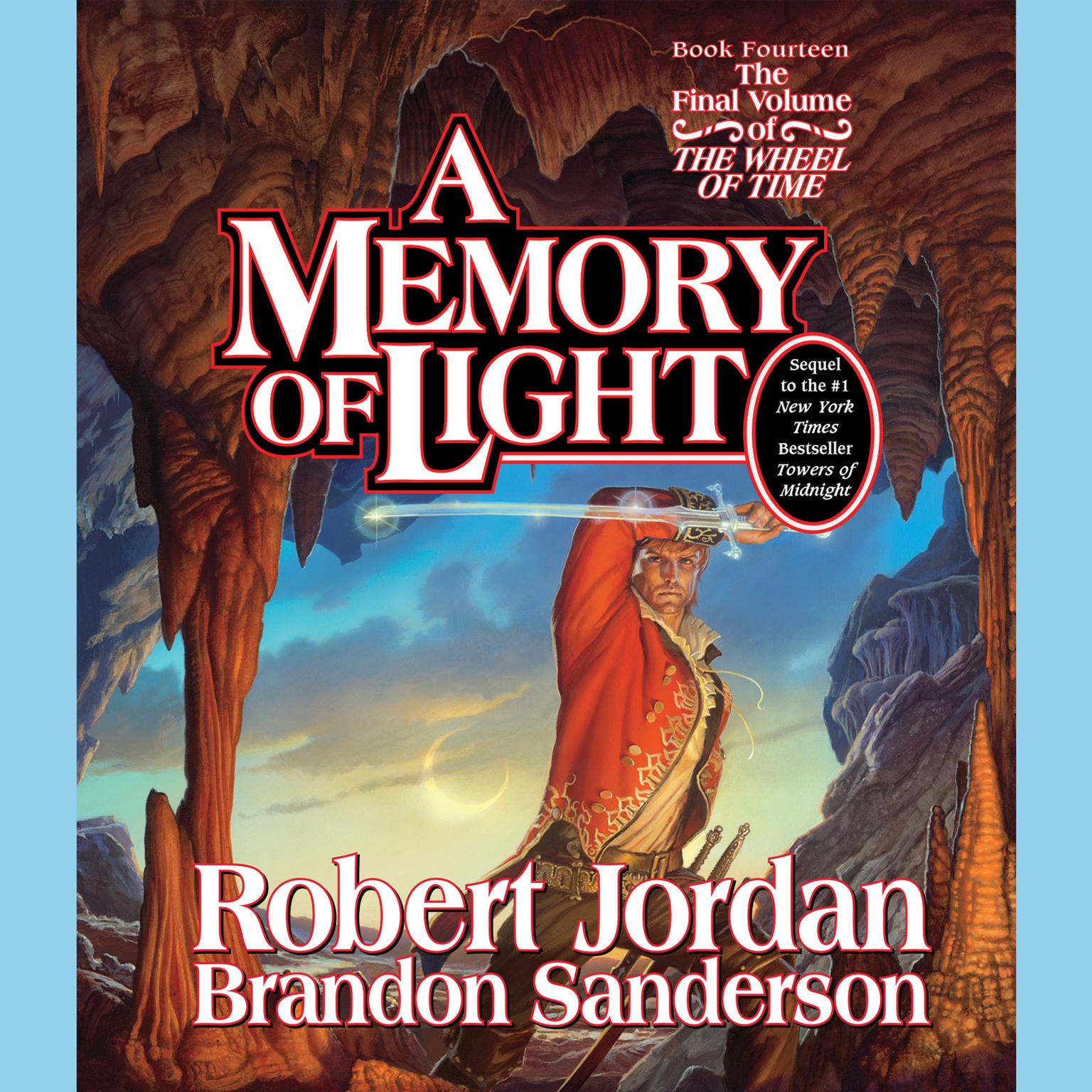 Printable A Memory of Light Audiobook Cover Art