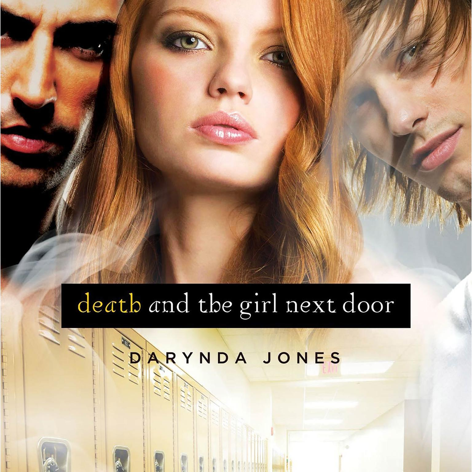 Printable Death and the Girl Next Door Audiobook Cover Art