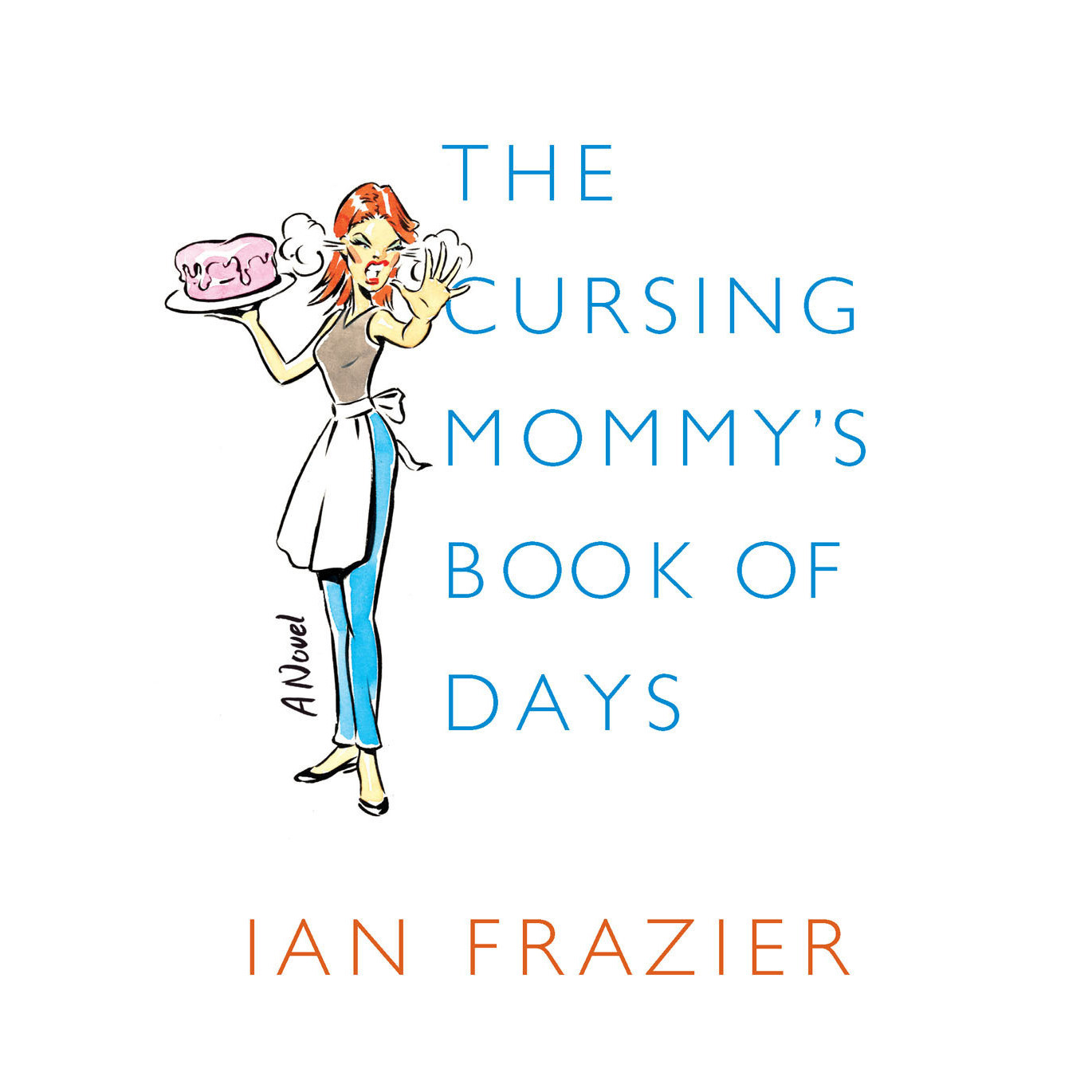 Printable The Cursing Mommy's Book of Days: A Novel Audiobook Cover Art
