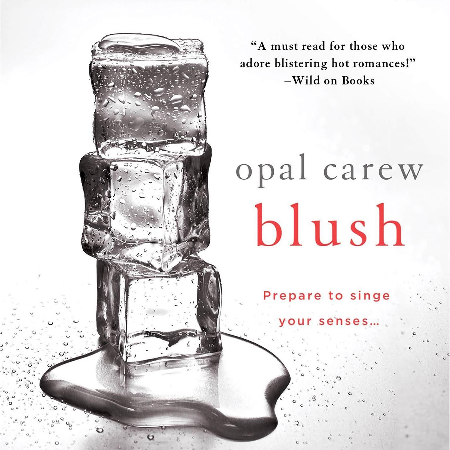 Printable Blush Audiobook Cover Art