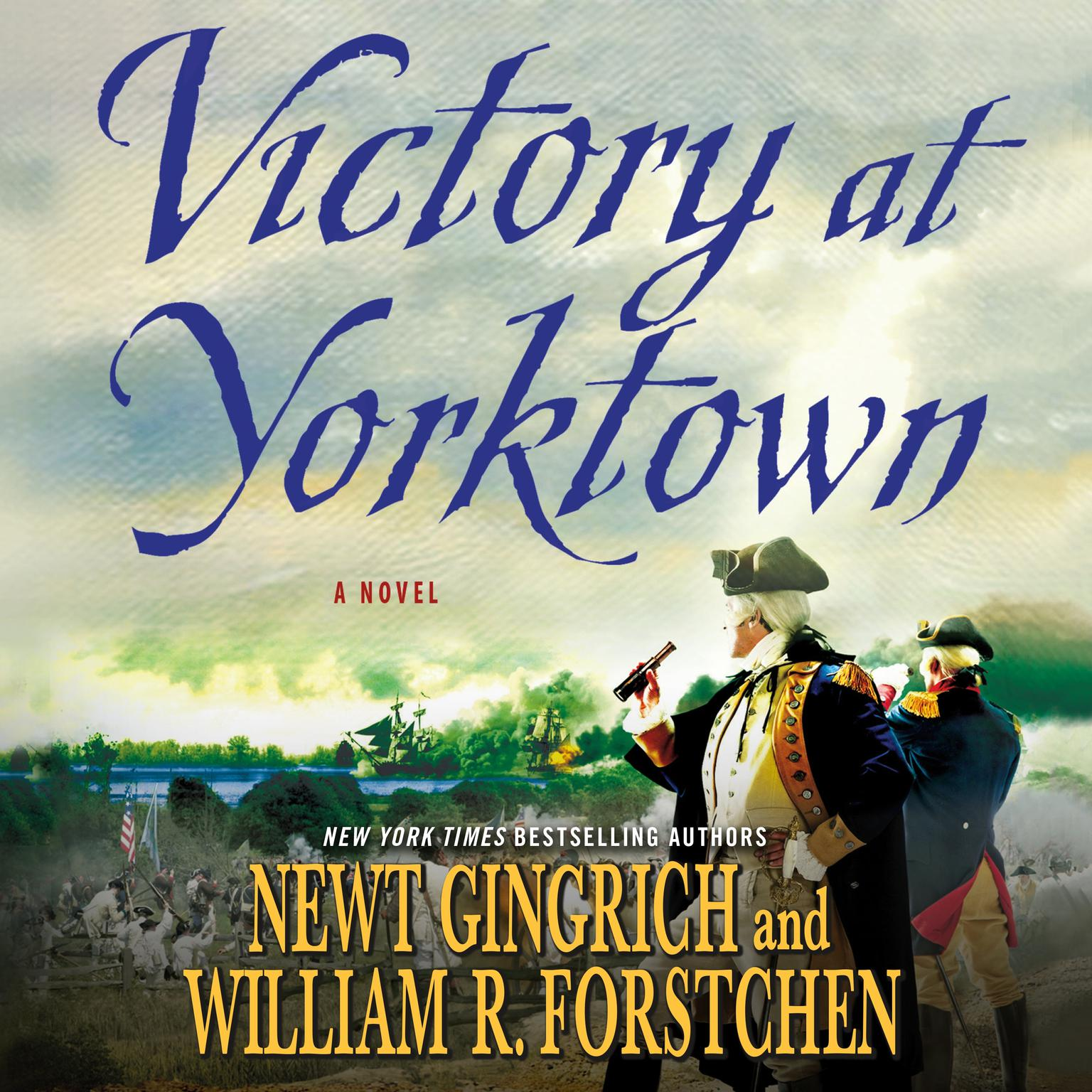 Printable Victory at Yorktown: A Novel Audiobook Cover Art