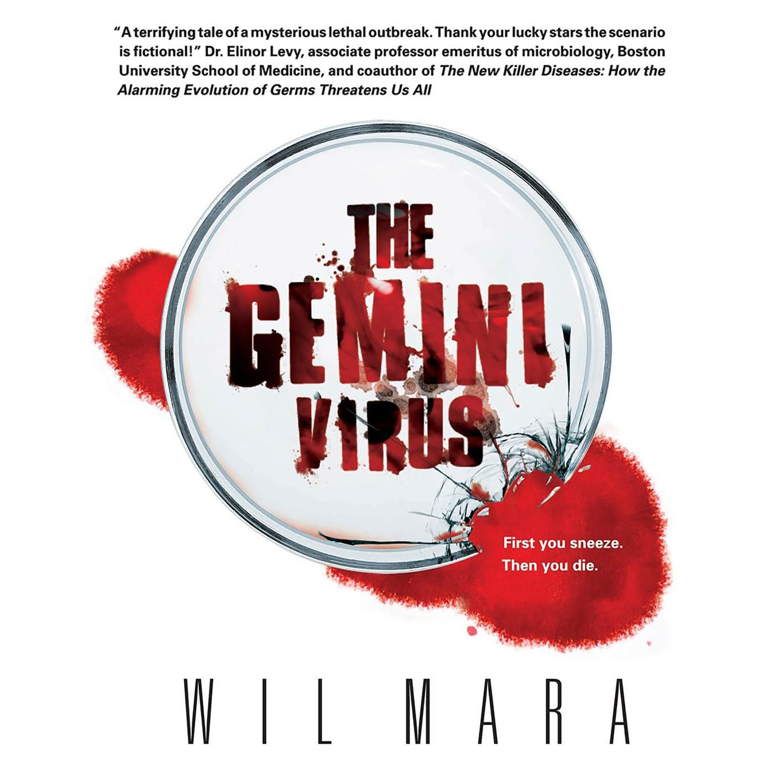 Printable The Gemini Virus Audiobook Cover Art