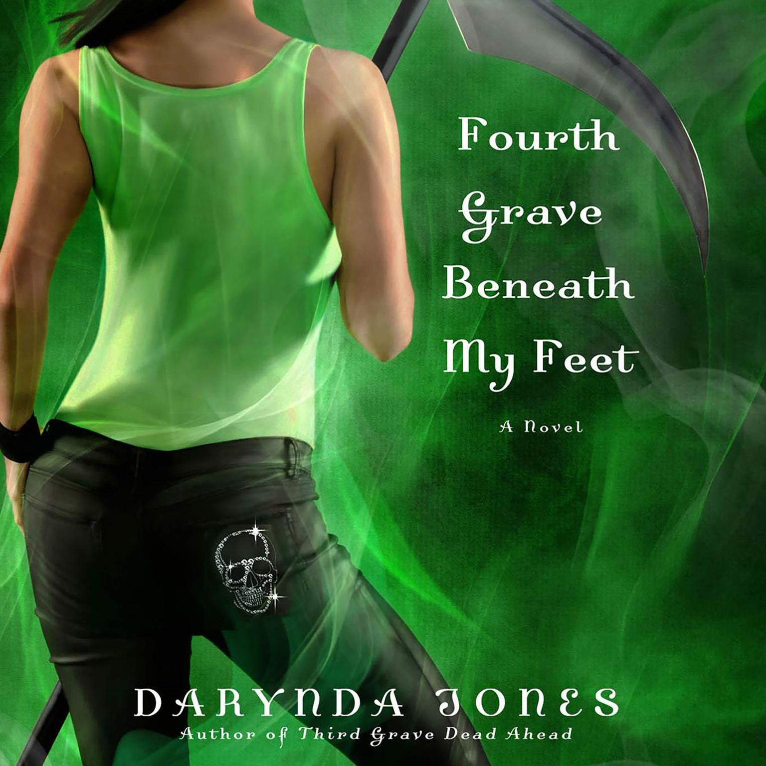 Printable Fourth Grave Beneath My Feet Audiobook Cover Art