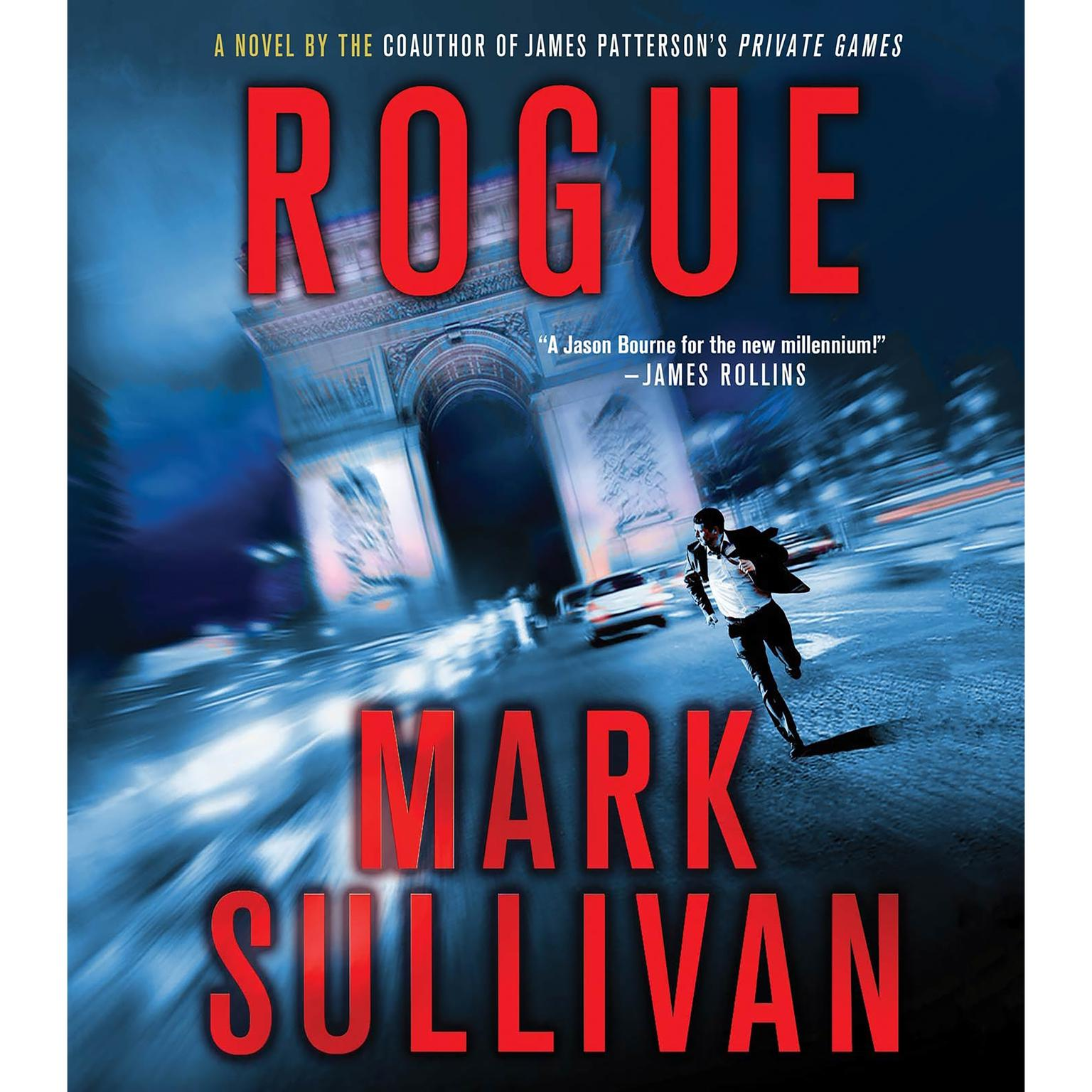 Printable Rogue Audiobook Cover Art