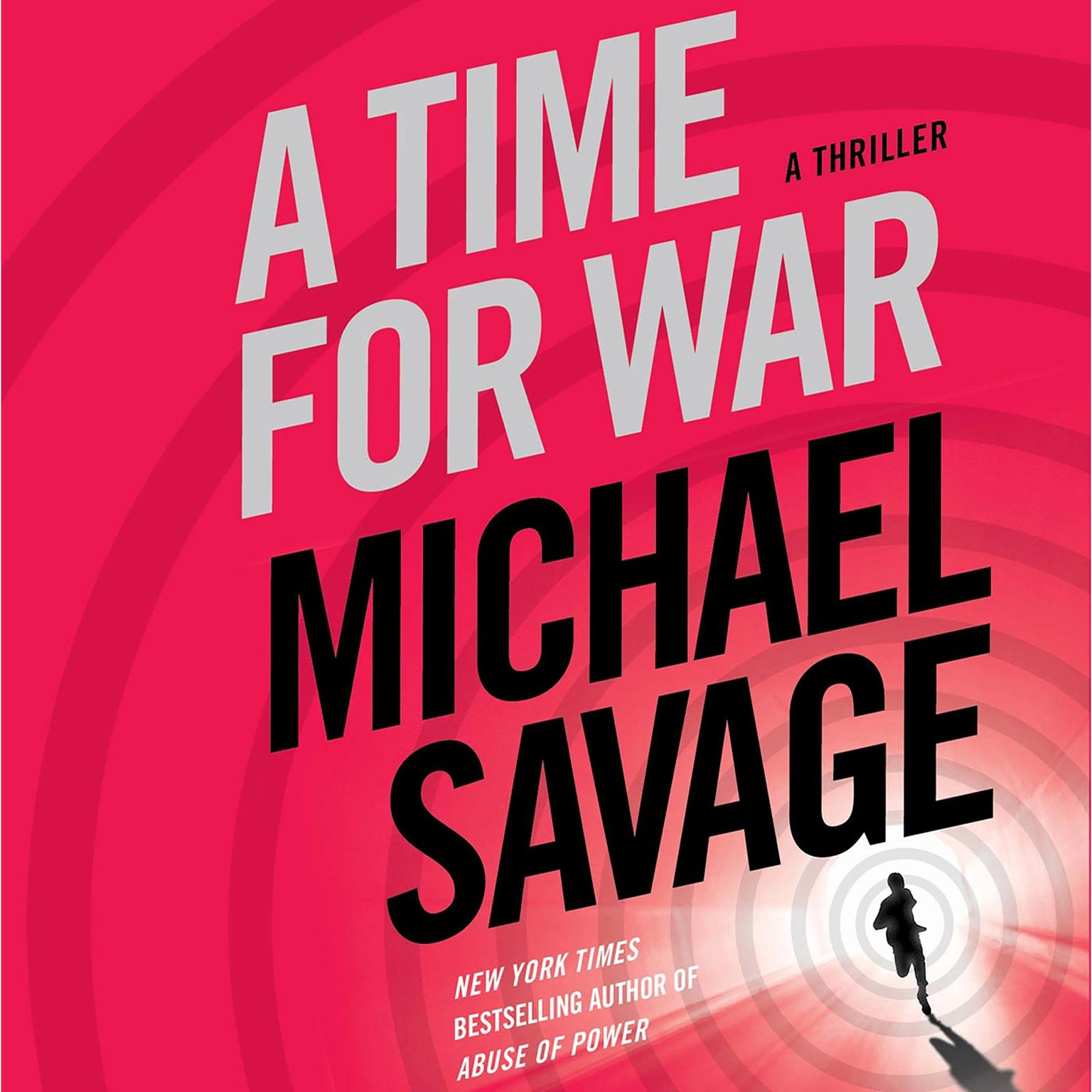 Printable A Time for War: A Thriller Audiobook Cover Art