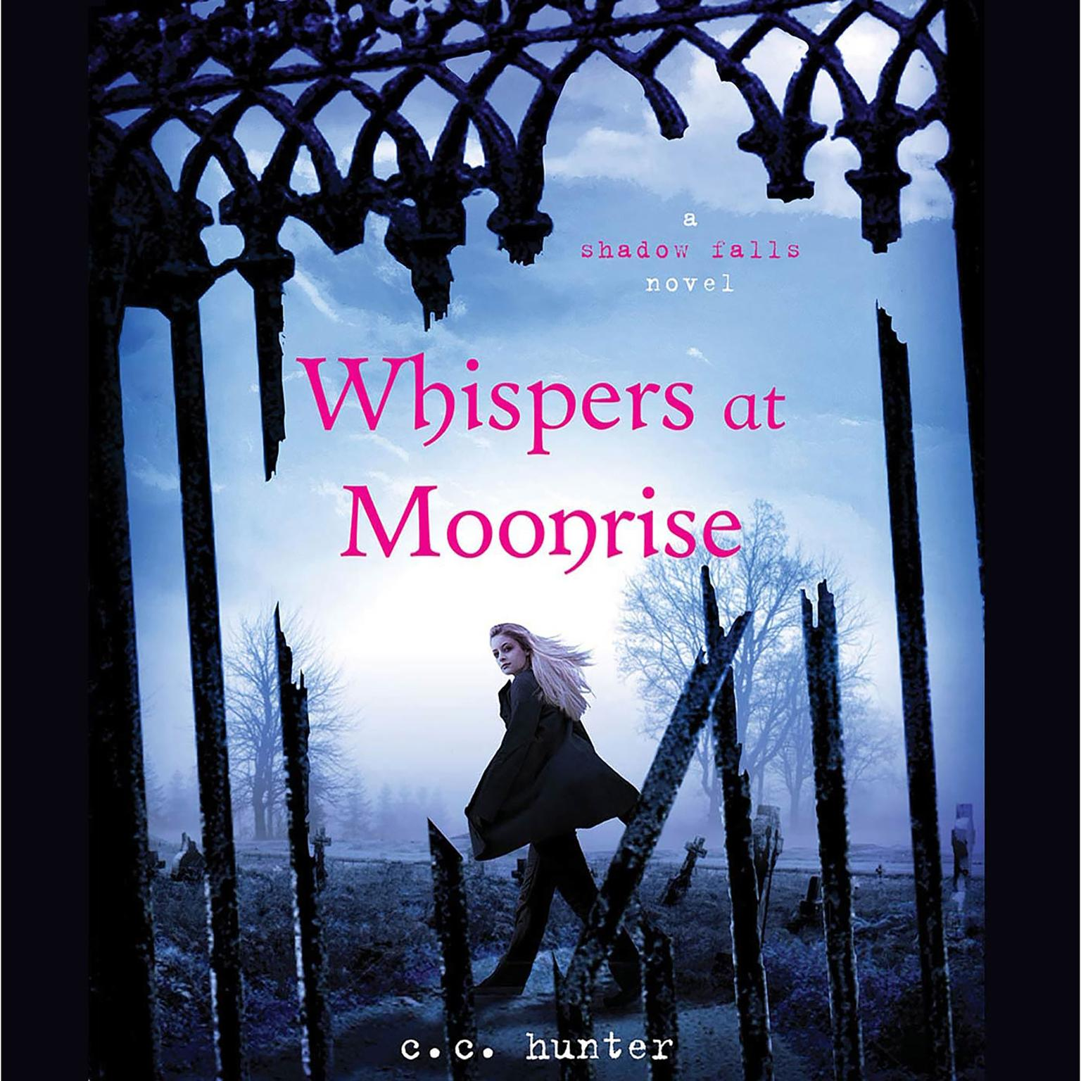 Printable Whispers at Moonrise Audiobook Cover Art