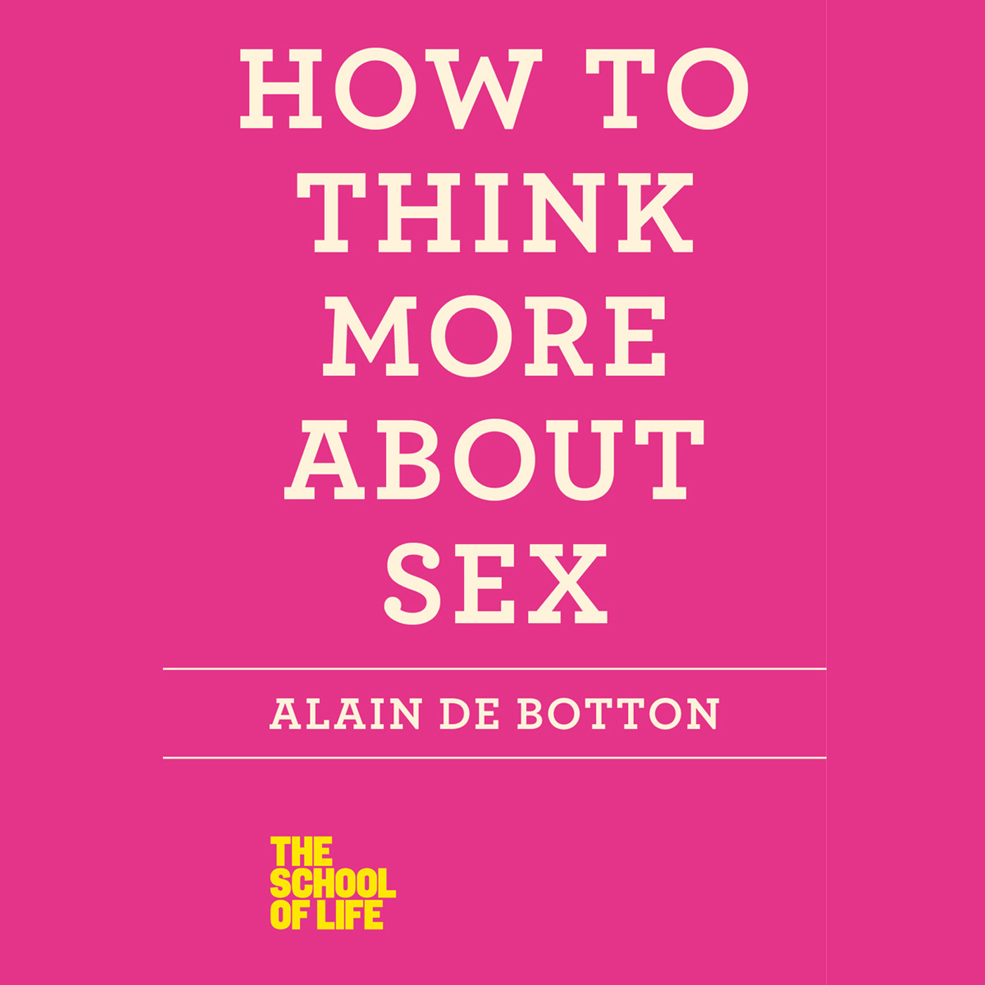 Printable How to Think More About Sex Audiobook Cover Art