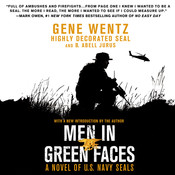 Men in Green Faces: A Novel of U.S. Navy SEALs, by B. Abell Jurus, Gene Wentz