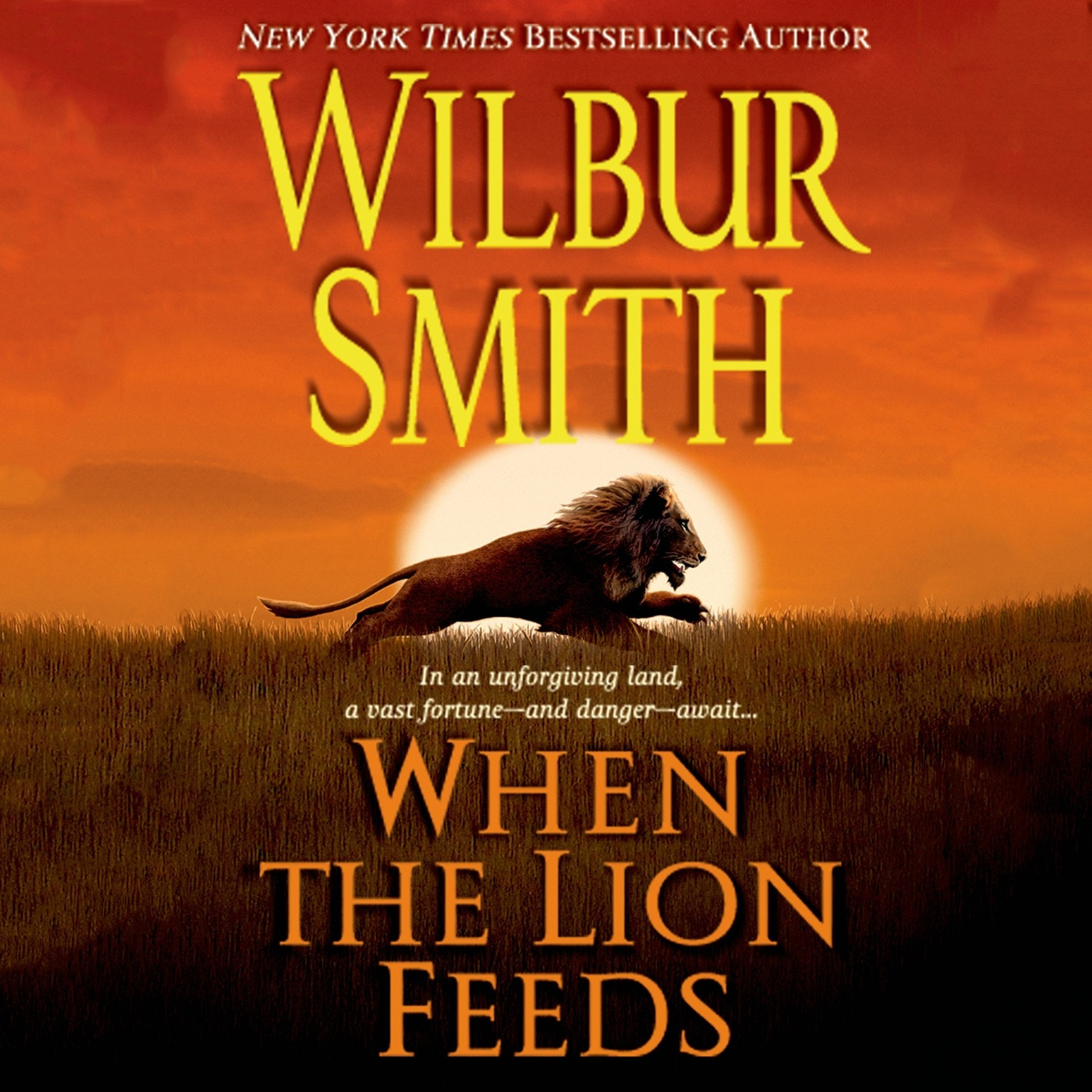 Printable When the Lion Feeds: A Courtney Family Novel Audiobook Cover Art