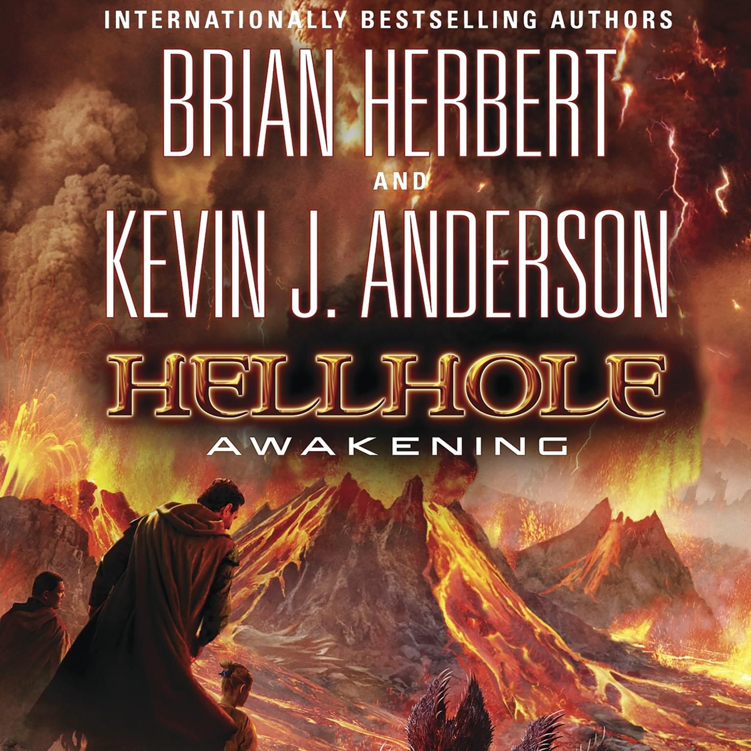 Printable Hellhole: Awakening Audiobook Cover Art