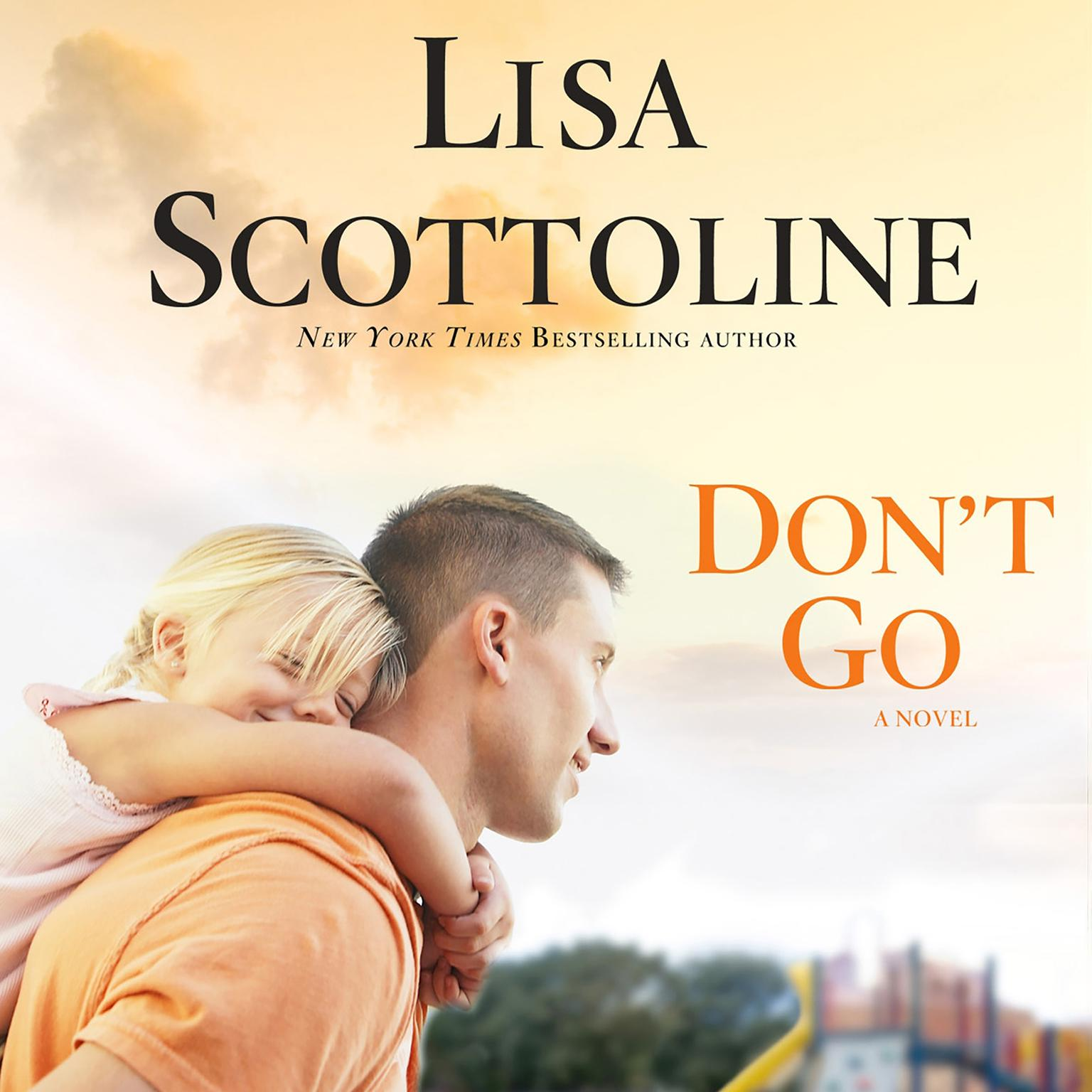 Printable Don't Go Audiobook Cover Art