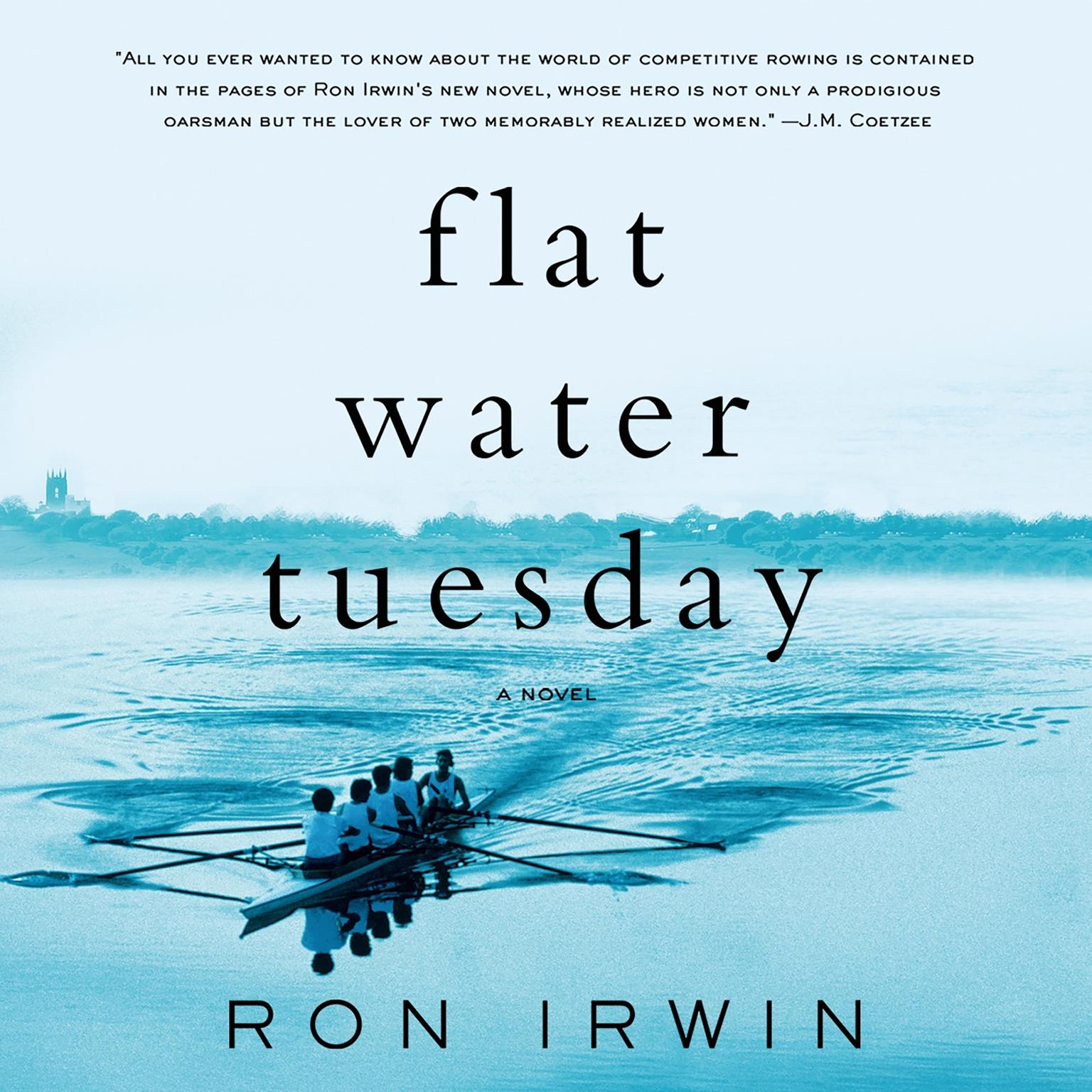 Printable Flat Water Tuesday: A Novel Audiobook Cover Art
