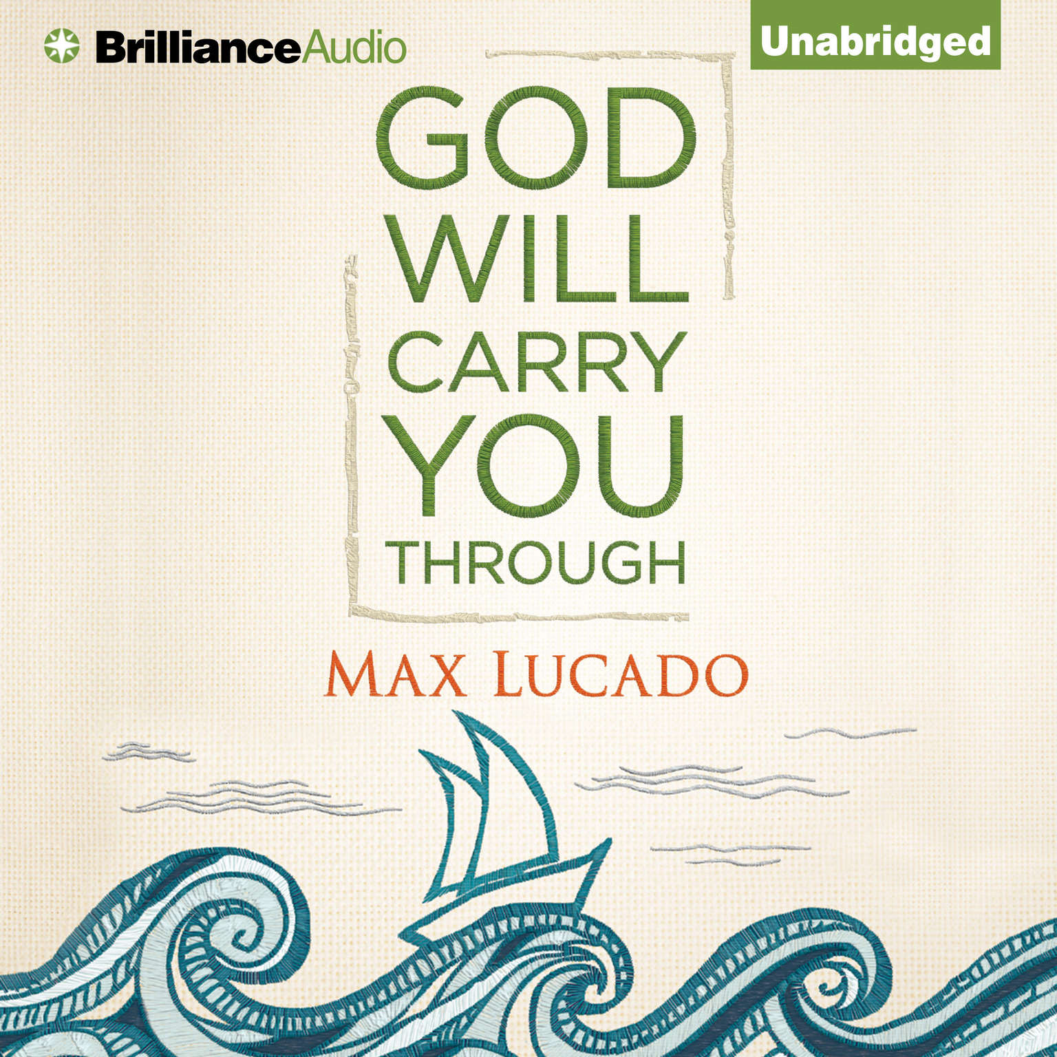 Printable God Will Carry You Through Audiobook Cover Art