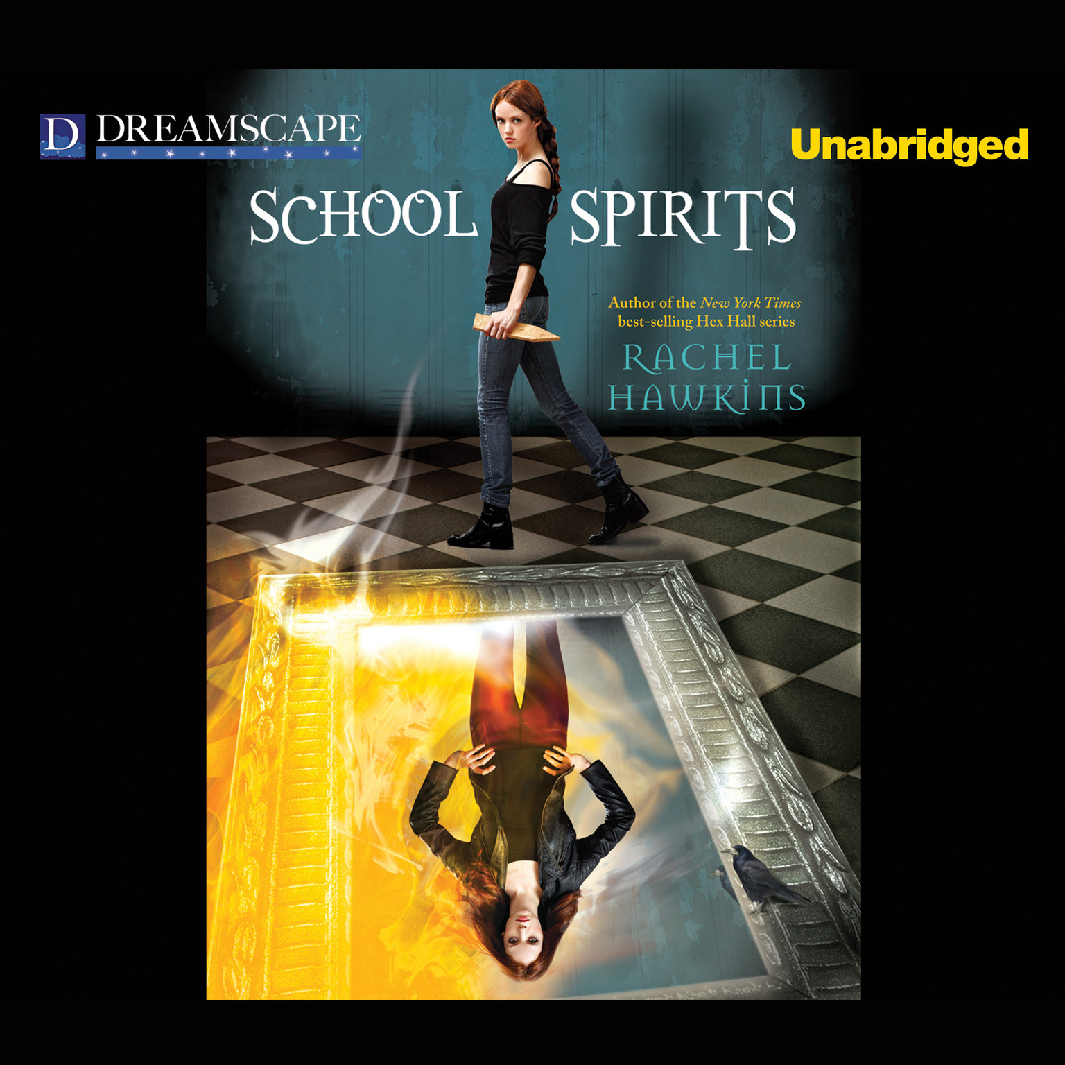 Printable School Spirits Audiobook Cover Art