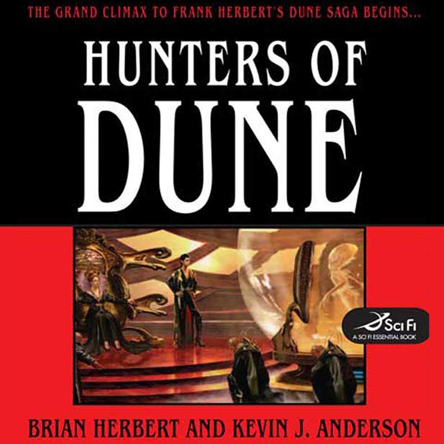 Printable Hunters of Dune Audiobook Cover Art