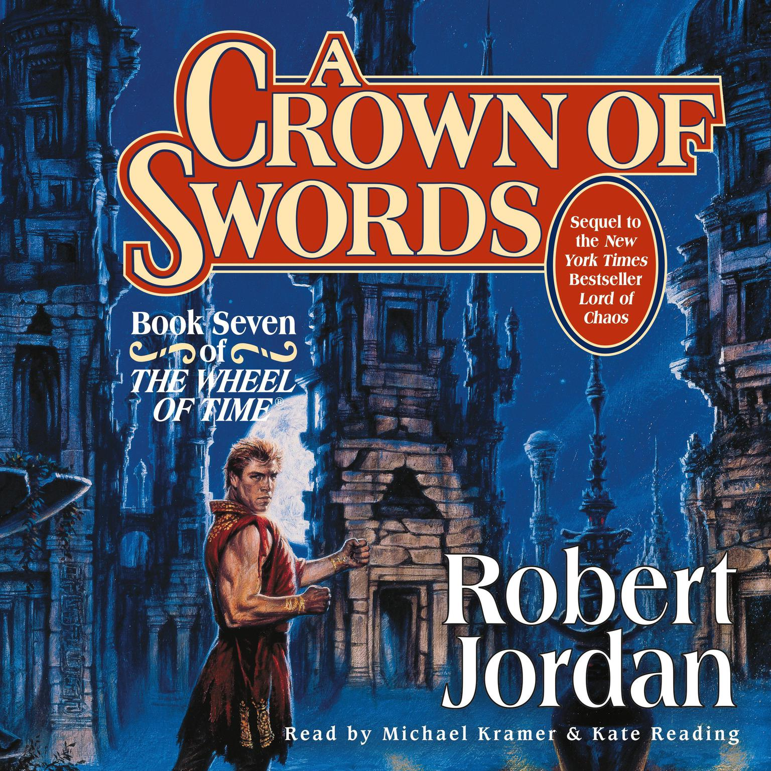 Printable A Crown of Swords: Book Seven of 'The Wheel of Time' Audiobook Cover Art
