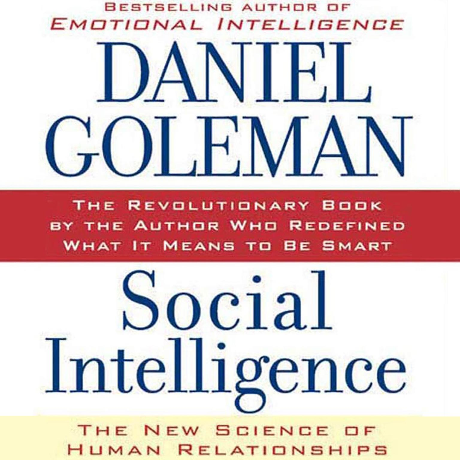 Printable Social Intelligence: The New Science of Human Relationships Audiobook Cover Art