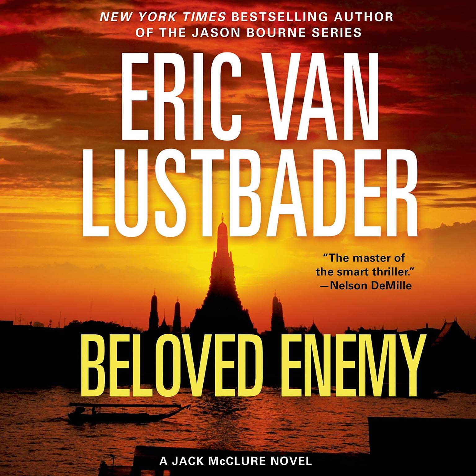 Printable Beloved Enemy: A Jack McClure Novel Audiobook Cover Art