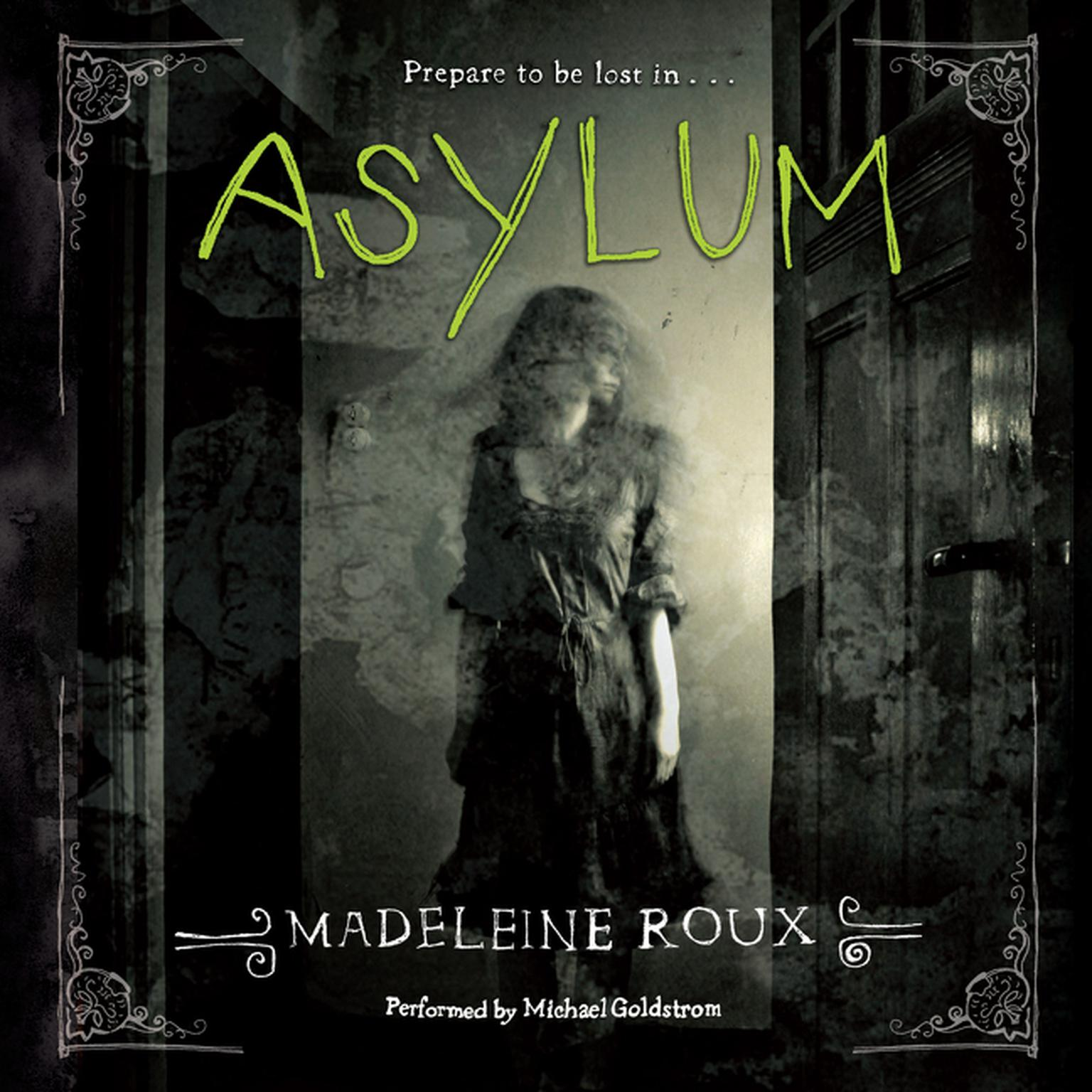 Printable Asylum Audiobook Cover Art