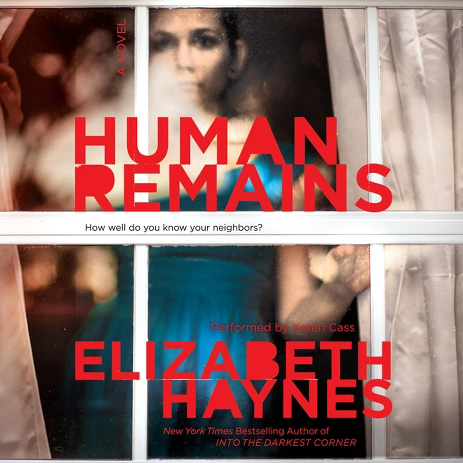 Printable Human Remains: A Novel Audiobook Cover Art