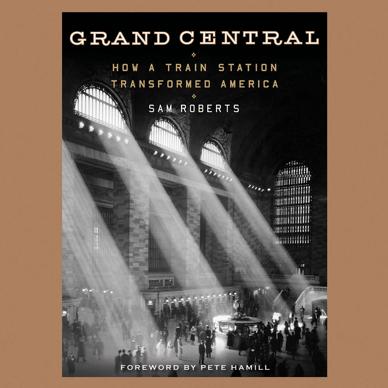 Printable Grand Central: How a Train Station Transformed America Audiobook Cover Art