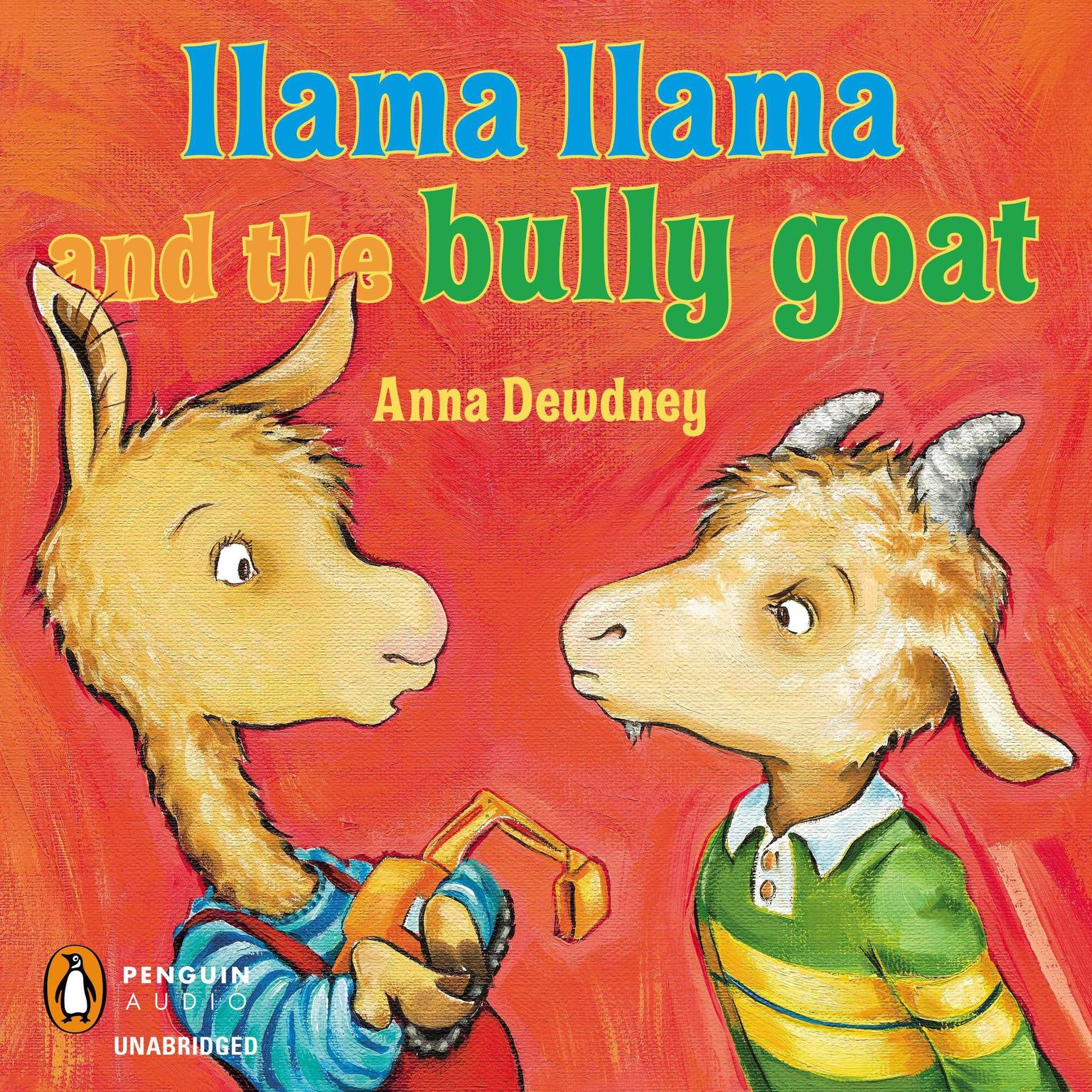 Printable Llama Llama and the Bully Goat Audiobook Cover Art
