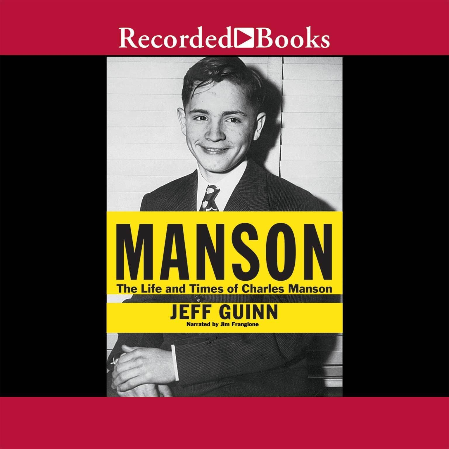 Printable Manson: The Life and Times of Charles Manson Audiobook Cover Art