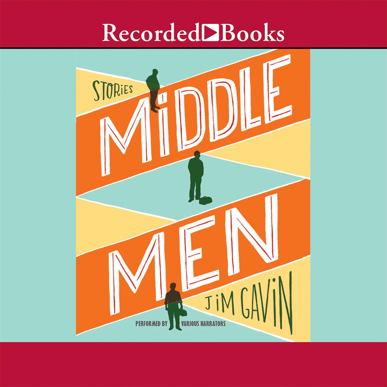 Printable Middle Men Audiobook Cover Art
