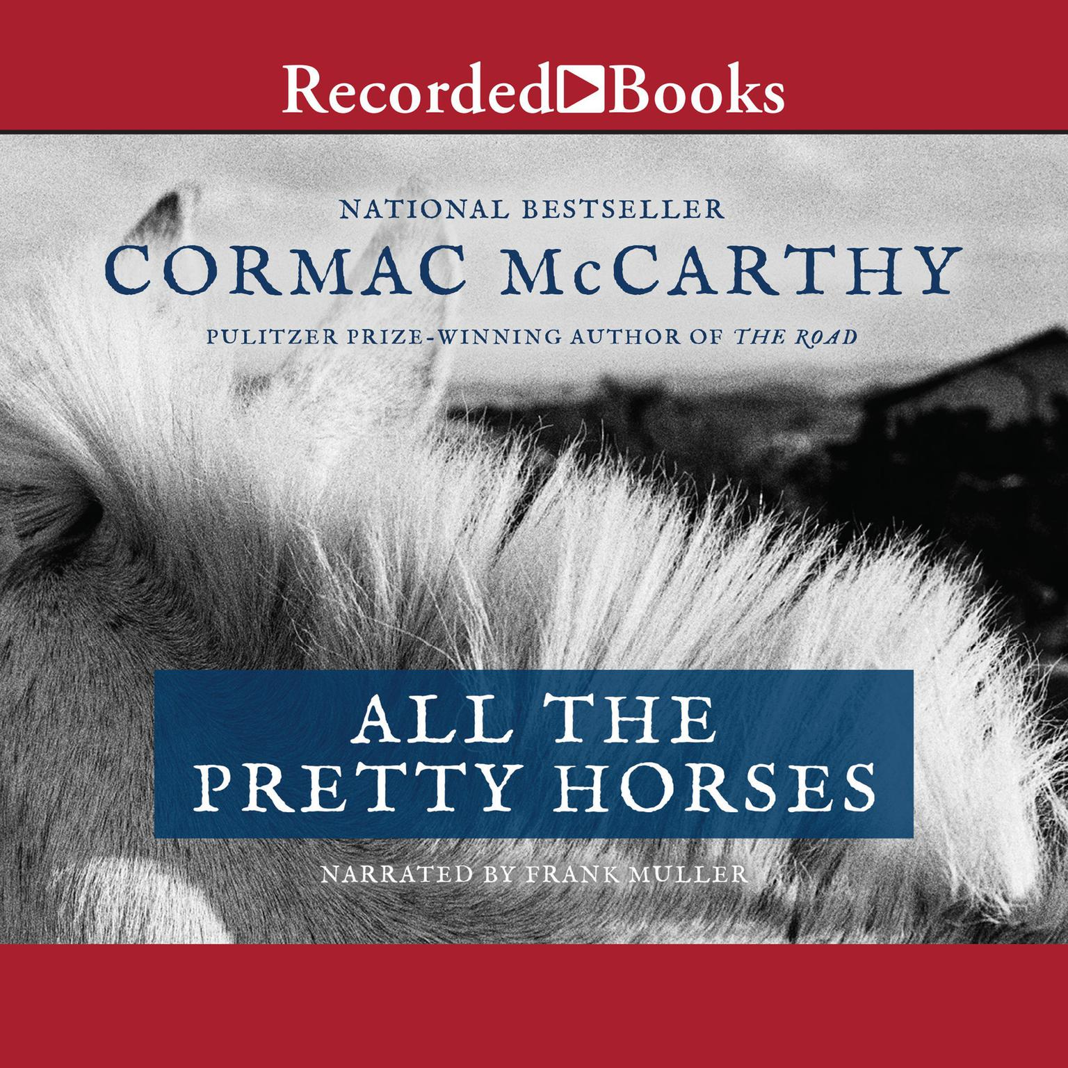 Printable All the Pretty Horses Audiobook Cover Art