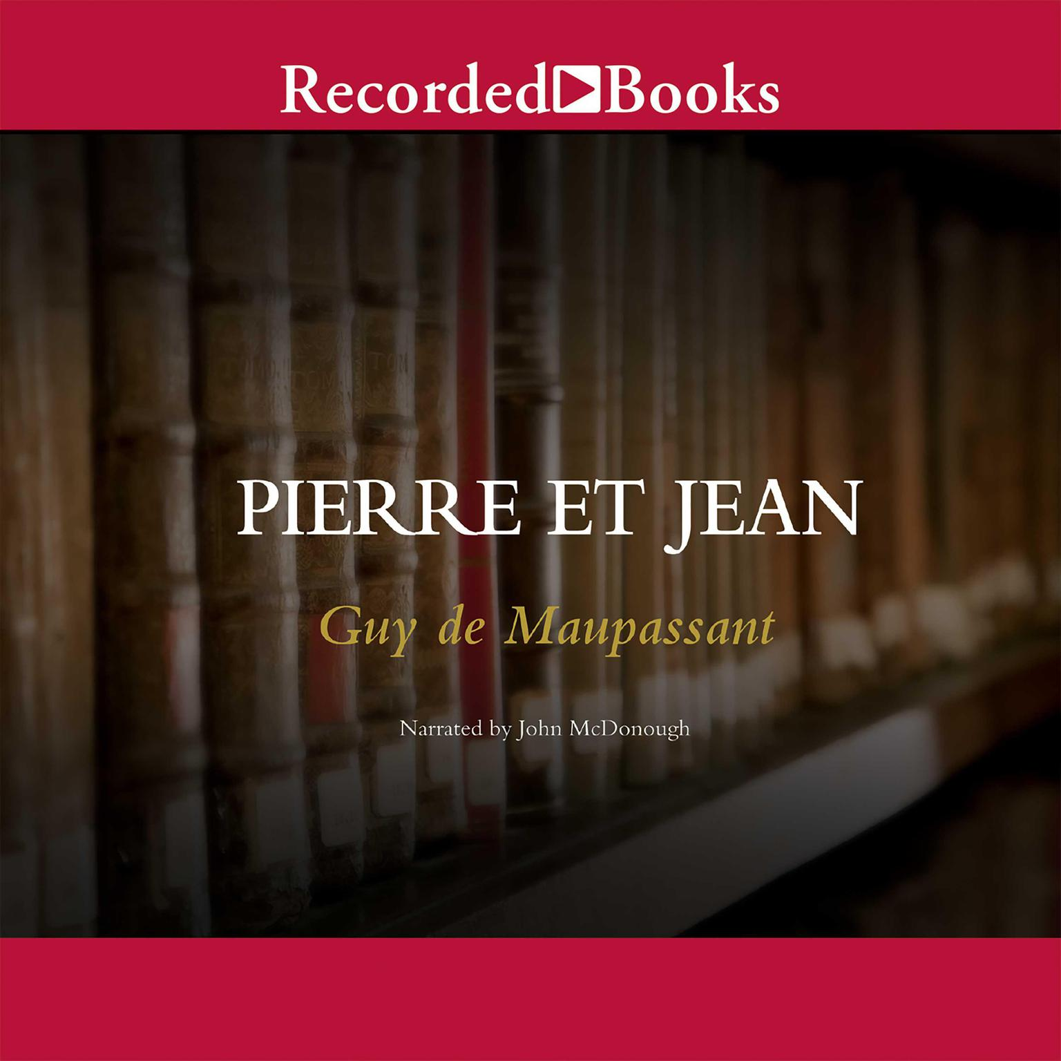Printable Pierre et Jean Audiobook Cover Art