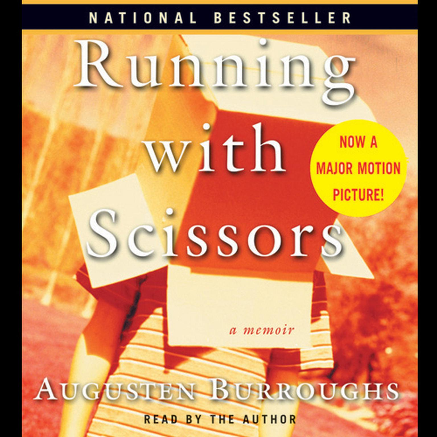 Printable Running with Scissors: A Memoir Audiobook Cover Art