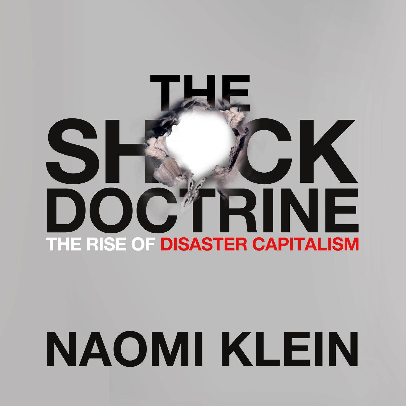 Printable The Shock Doctrine: The Rise of Disaster Capitalism Audiobook Cover Art