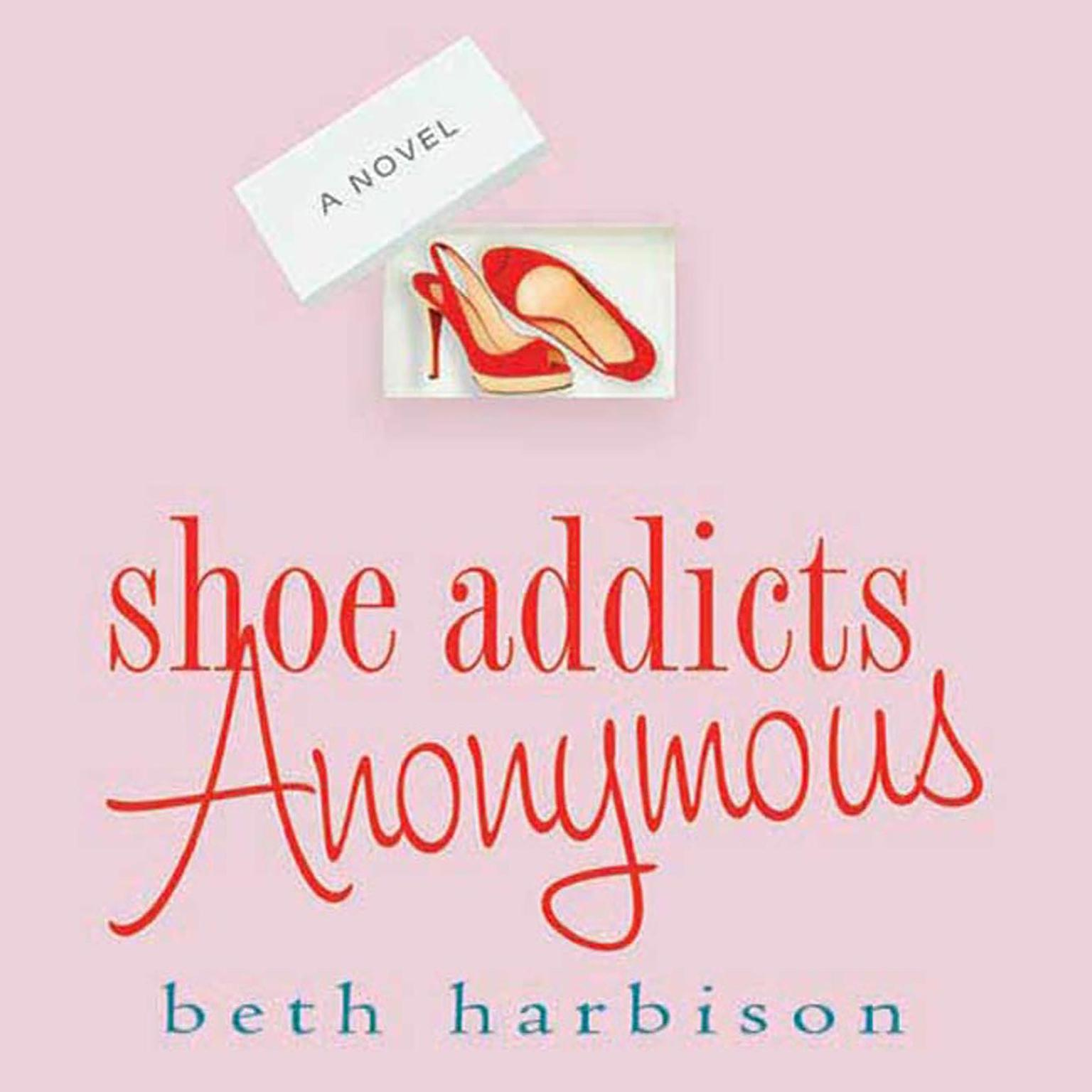 Printable Shoe Addicts Anonymous Audiobook Cover Art