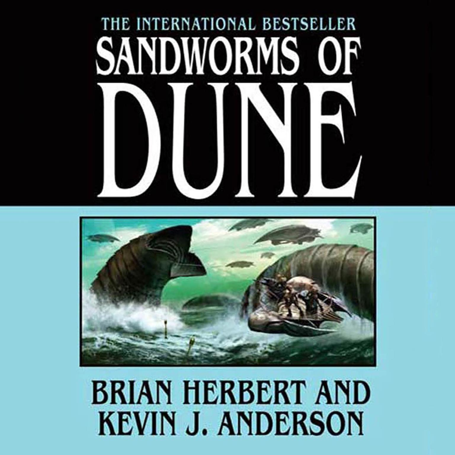 Printable Sandworms of Dune Audiobook Cover Art