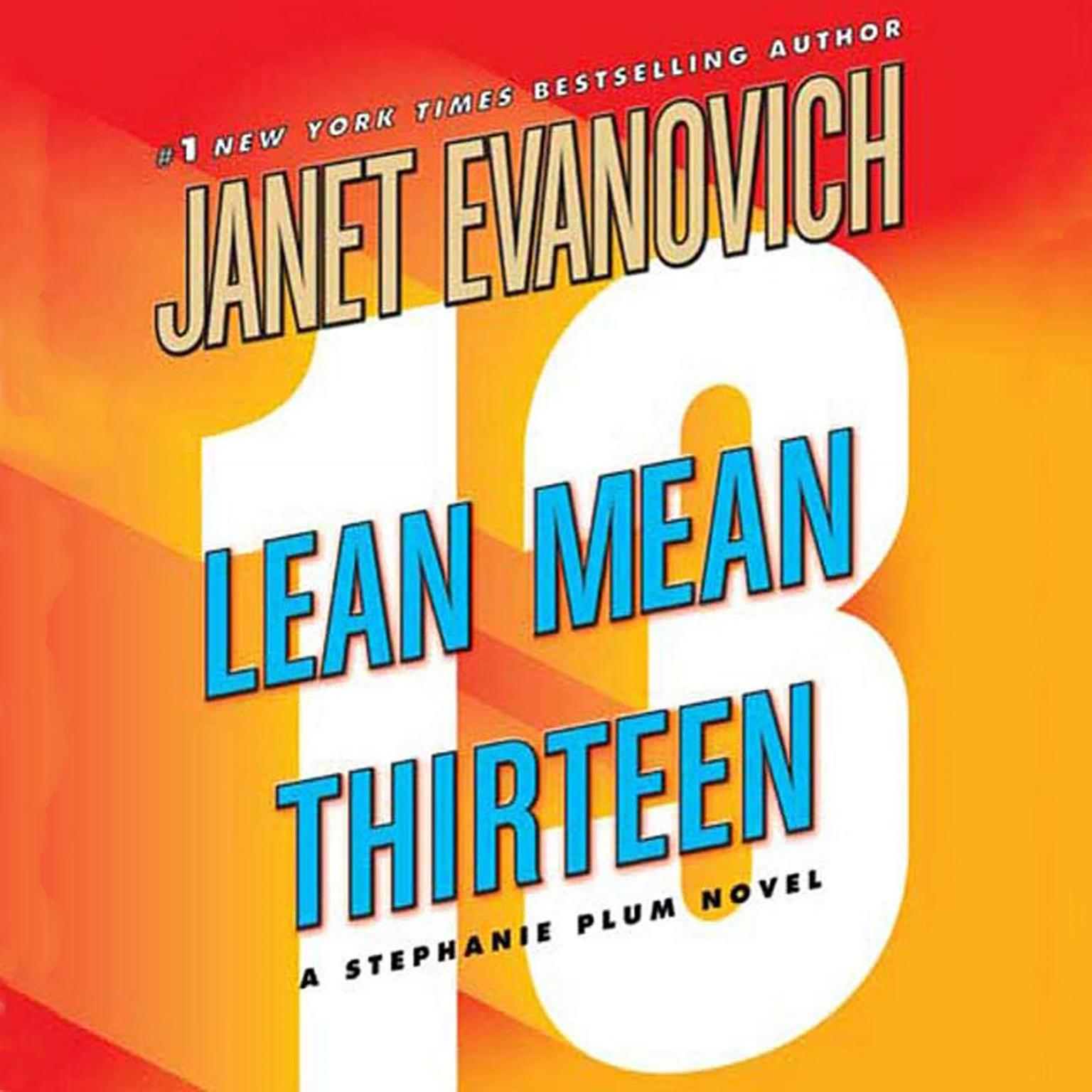 Printable Lean Mean Thirteen Audiobook Cover Art