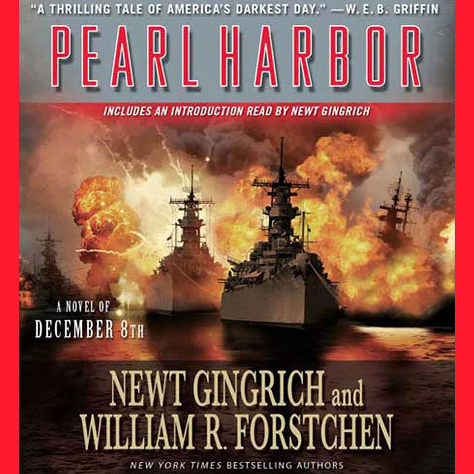 Printable Pearl Harbor: A Novel of December 8th Audiobook Cover Art