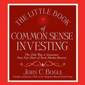 The Little Book of Common Sense Investing Audiobook, by John C. Bogle