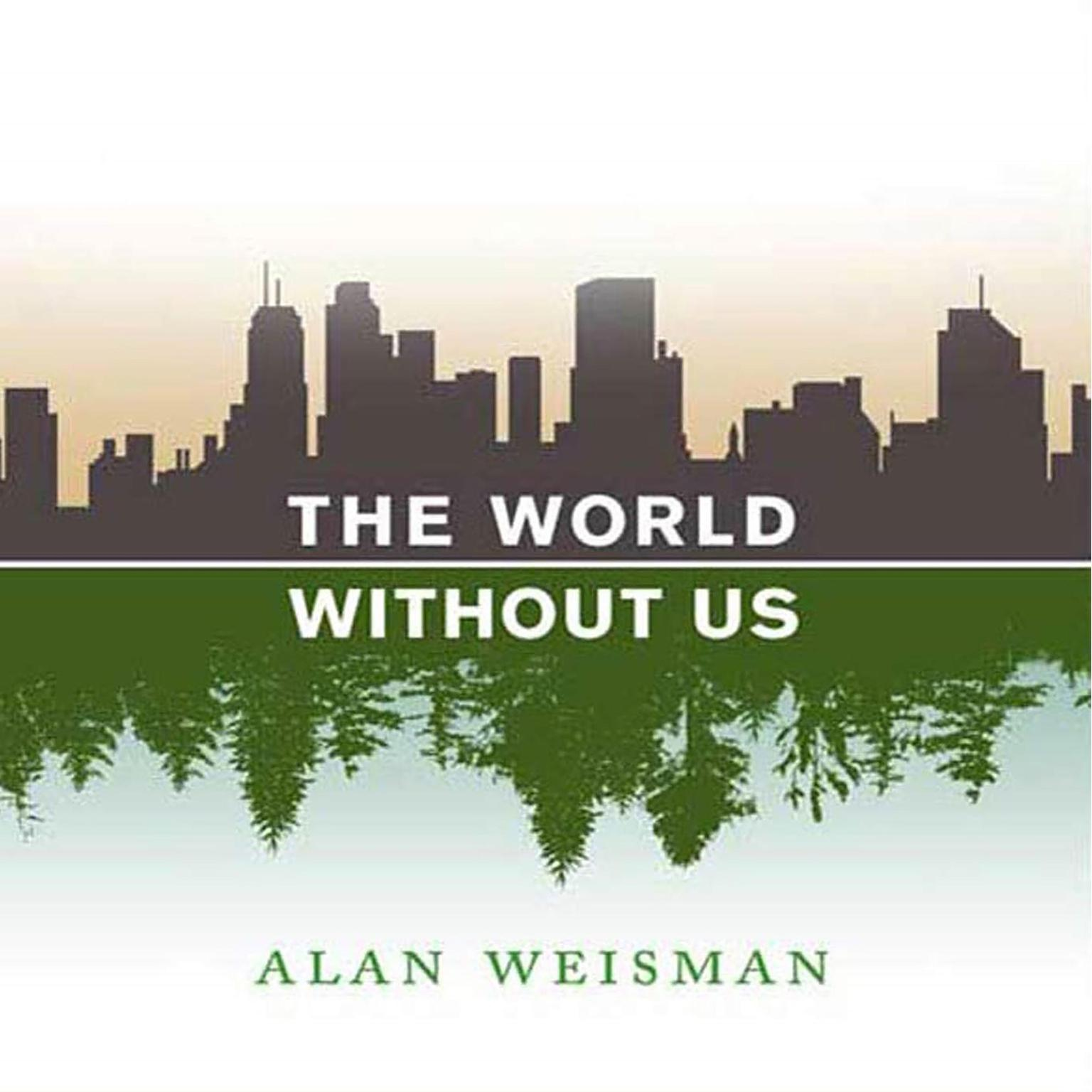 Printable The World Without Us Audiobook Cover Art