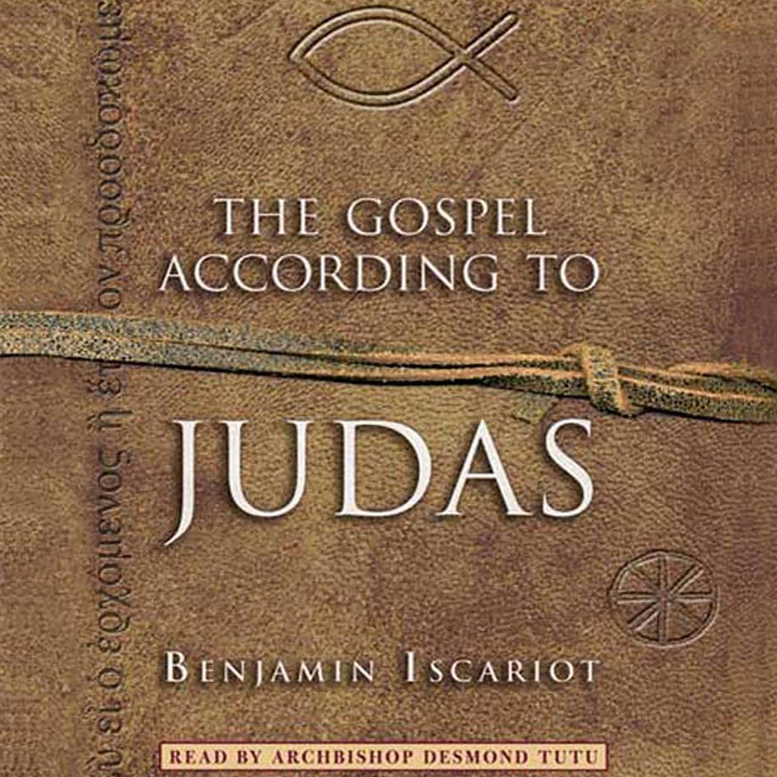 Printable The Gospel According to Judas by Benjamin Iscariot Audiobook Cover Art