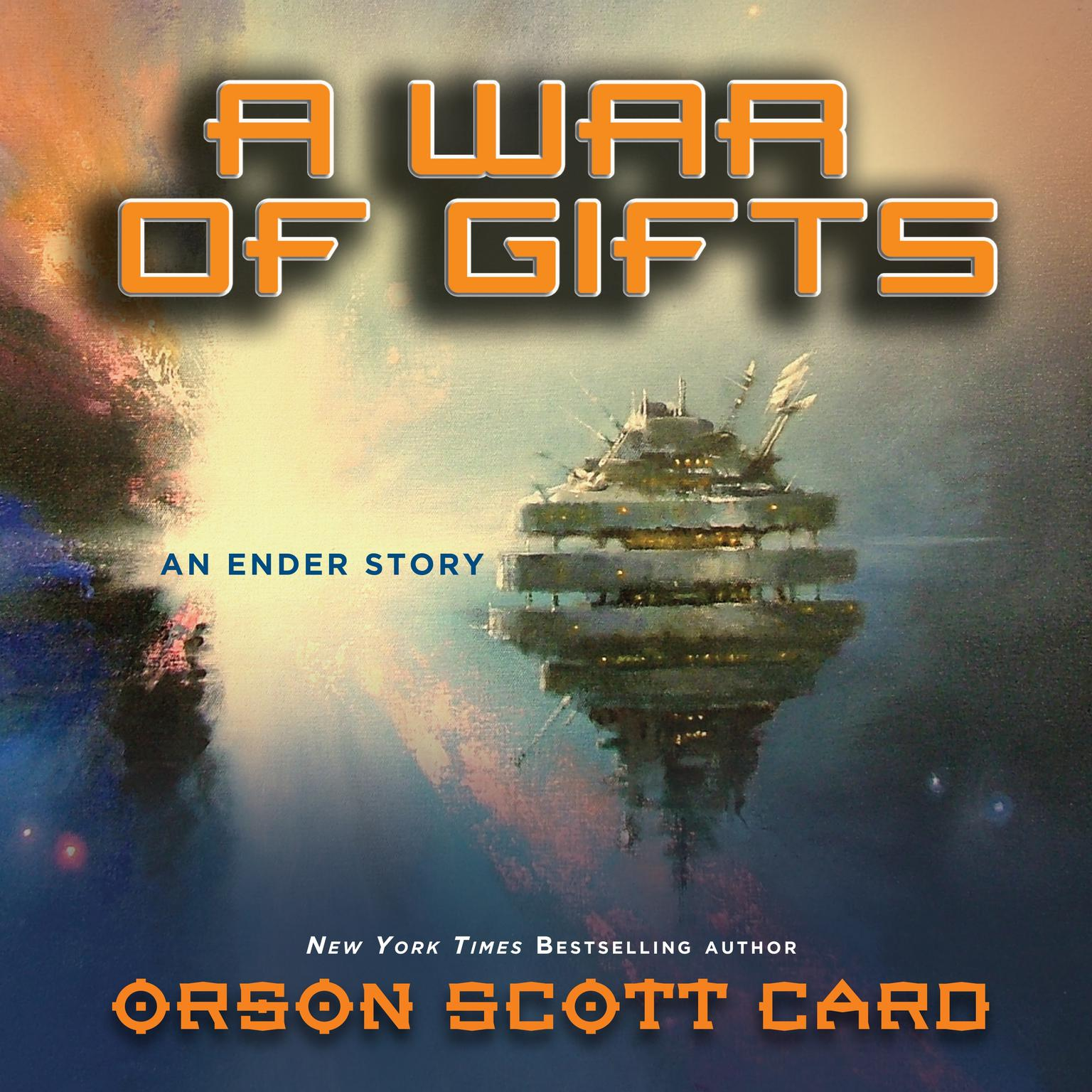 Printable A War of Gifts: An Ender Story Audiobook Cover Art