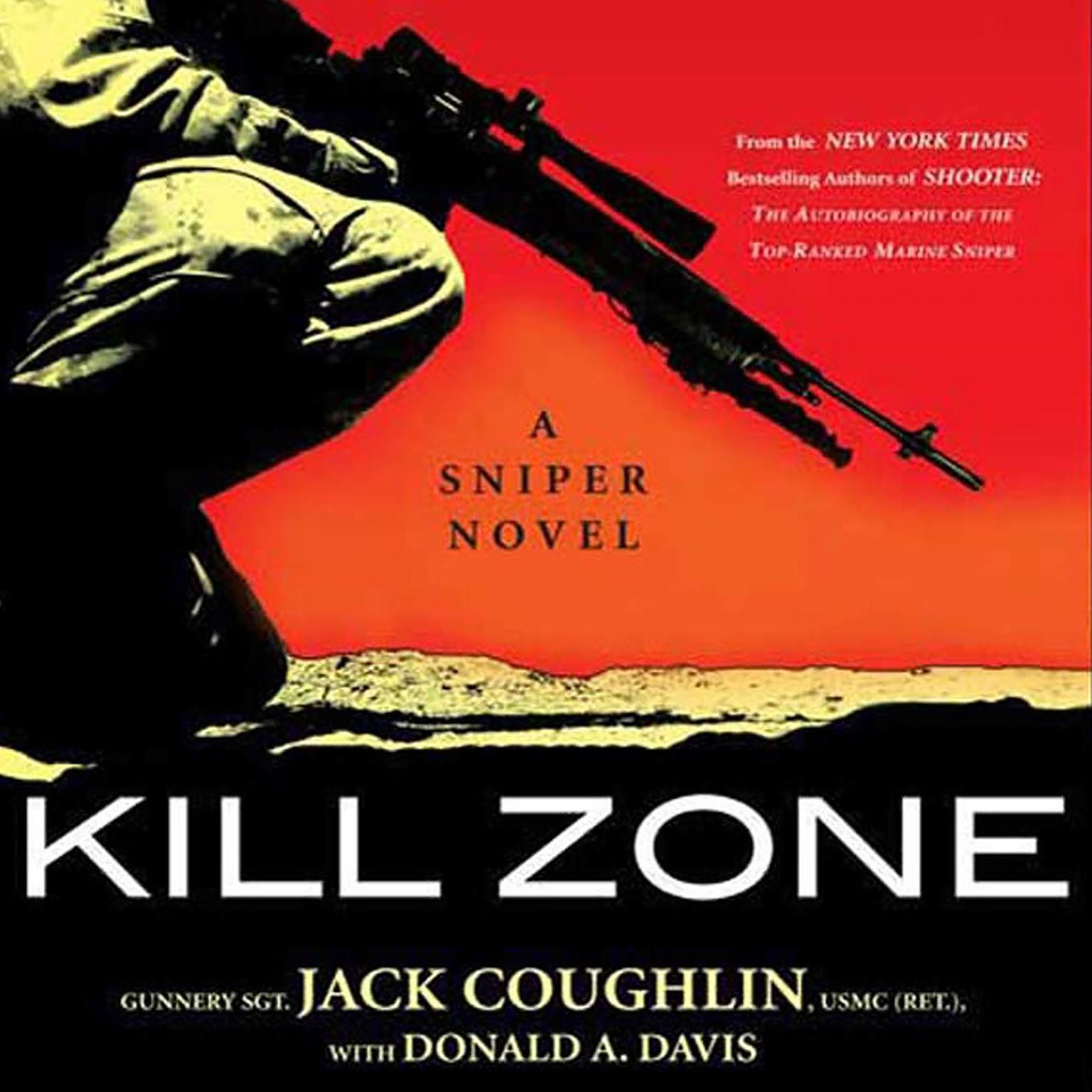 Printable Kill Zone: A Sniper Novel Audiobook Cover Art