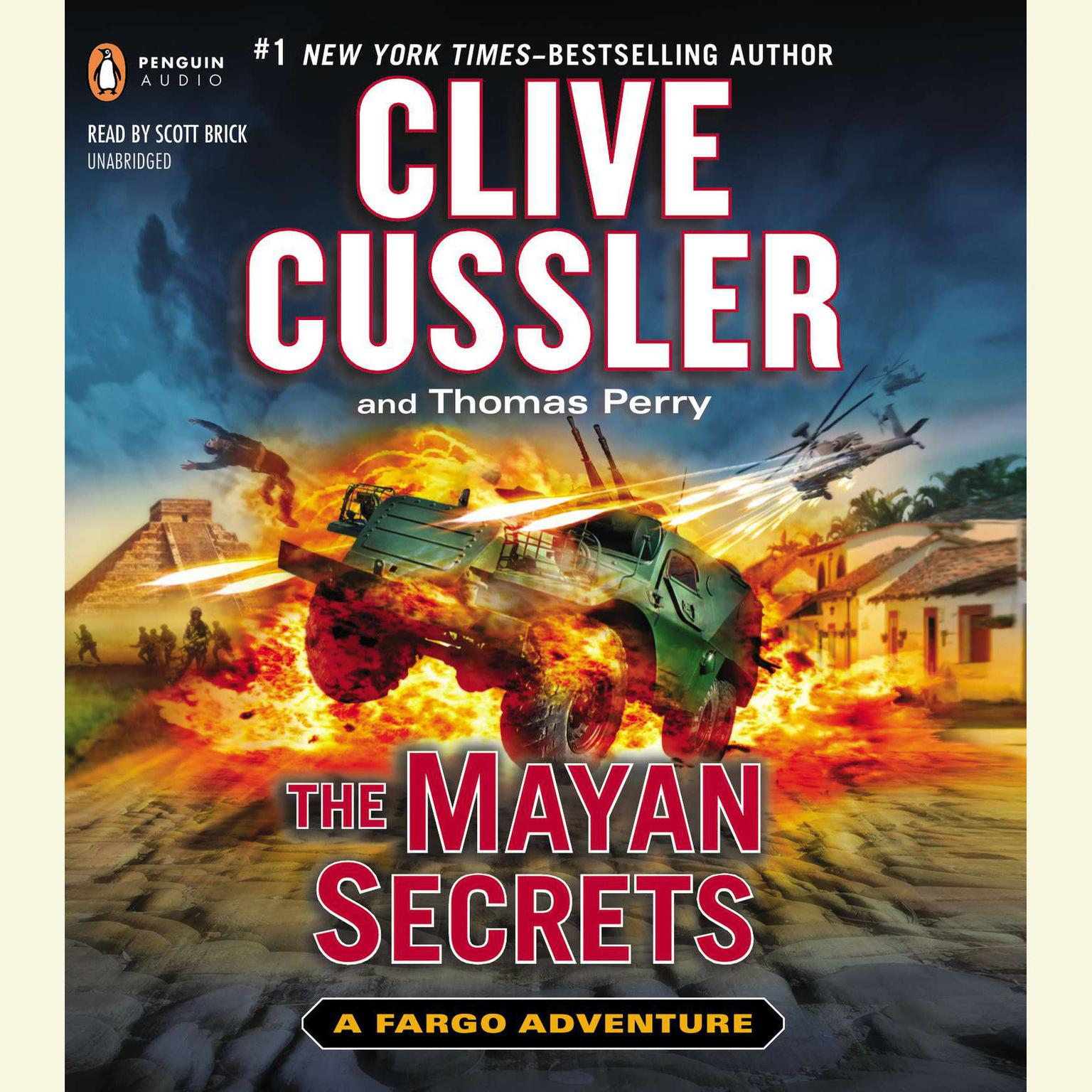 Printable The Mayan Secrets Audiobook Cover Art