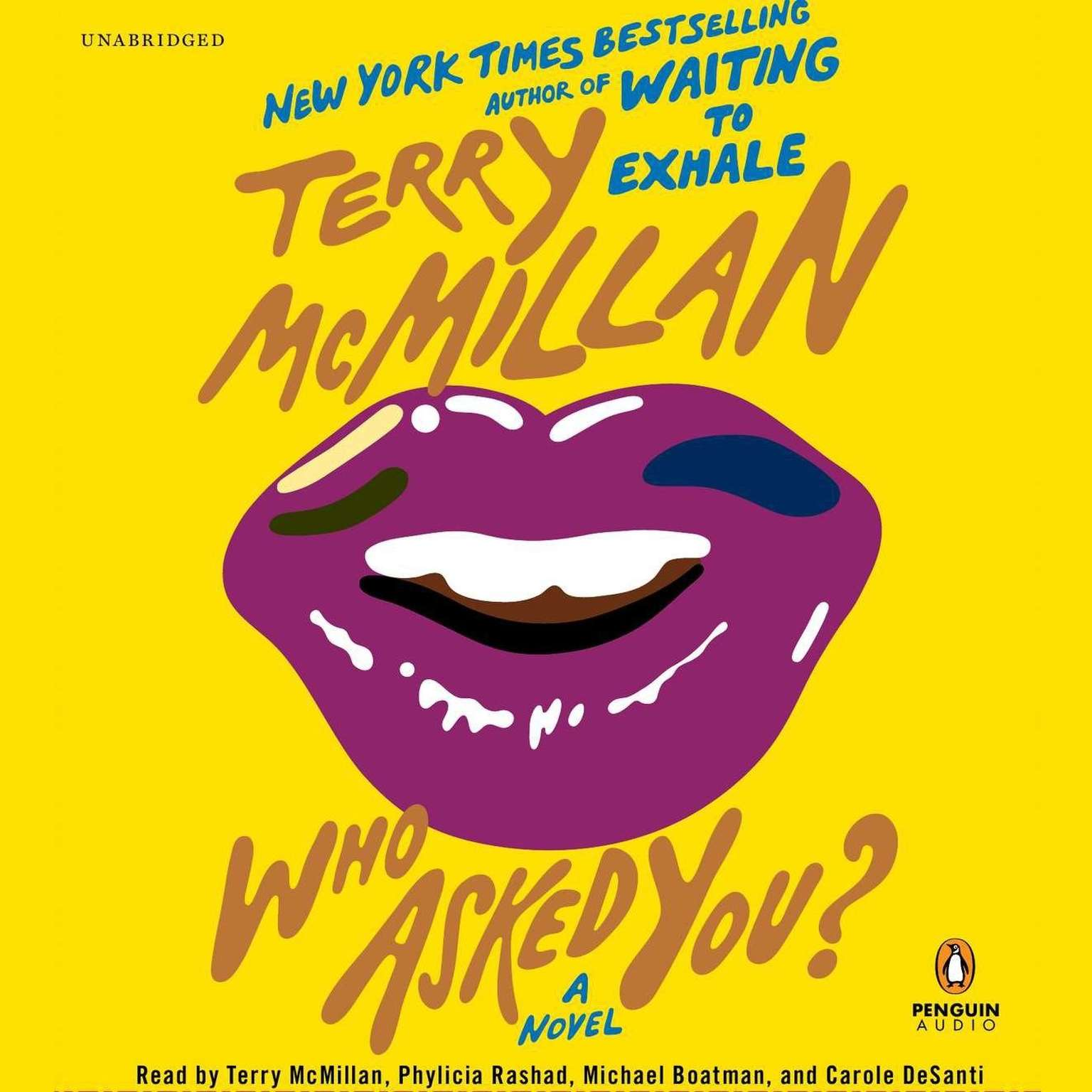 Printable Who Asked You? Audiobook Cover Art