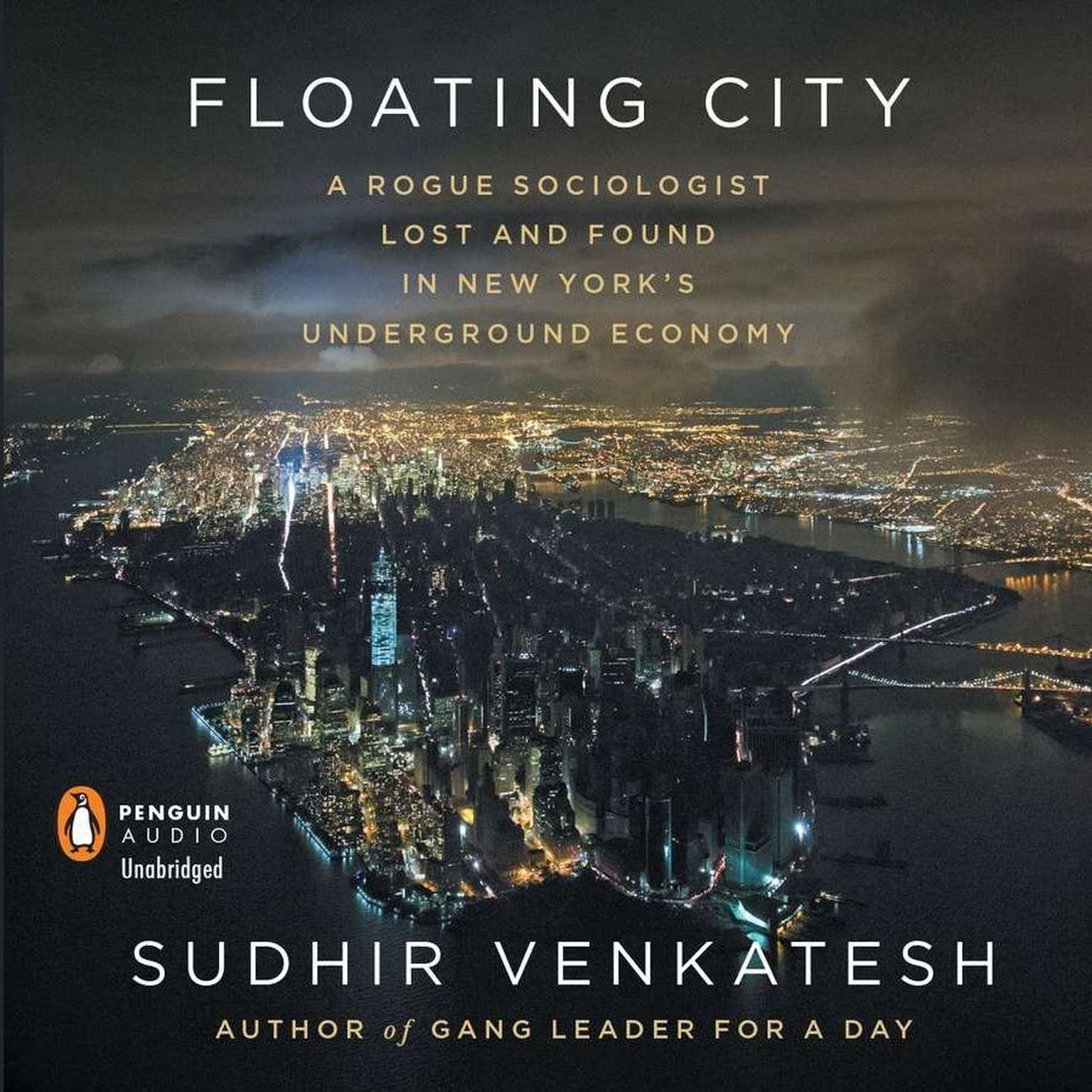 Printable Floating City: A Rogue Sociologist Lost and Found in New York's Underground Economy Audiobook Cover Art