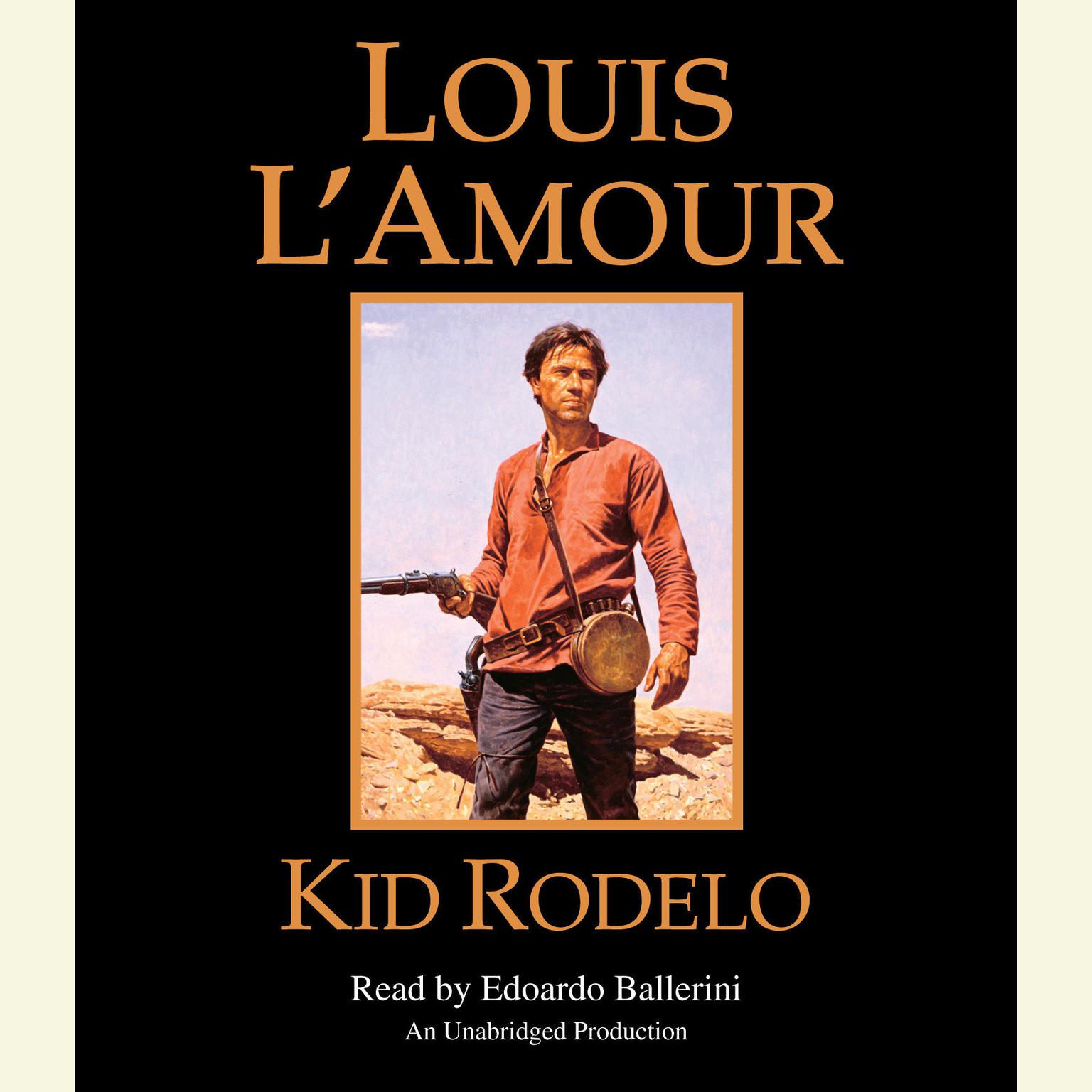 Printable Kid Rodelo Audiobook Cover Art